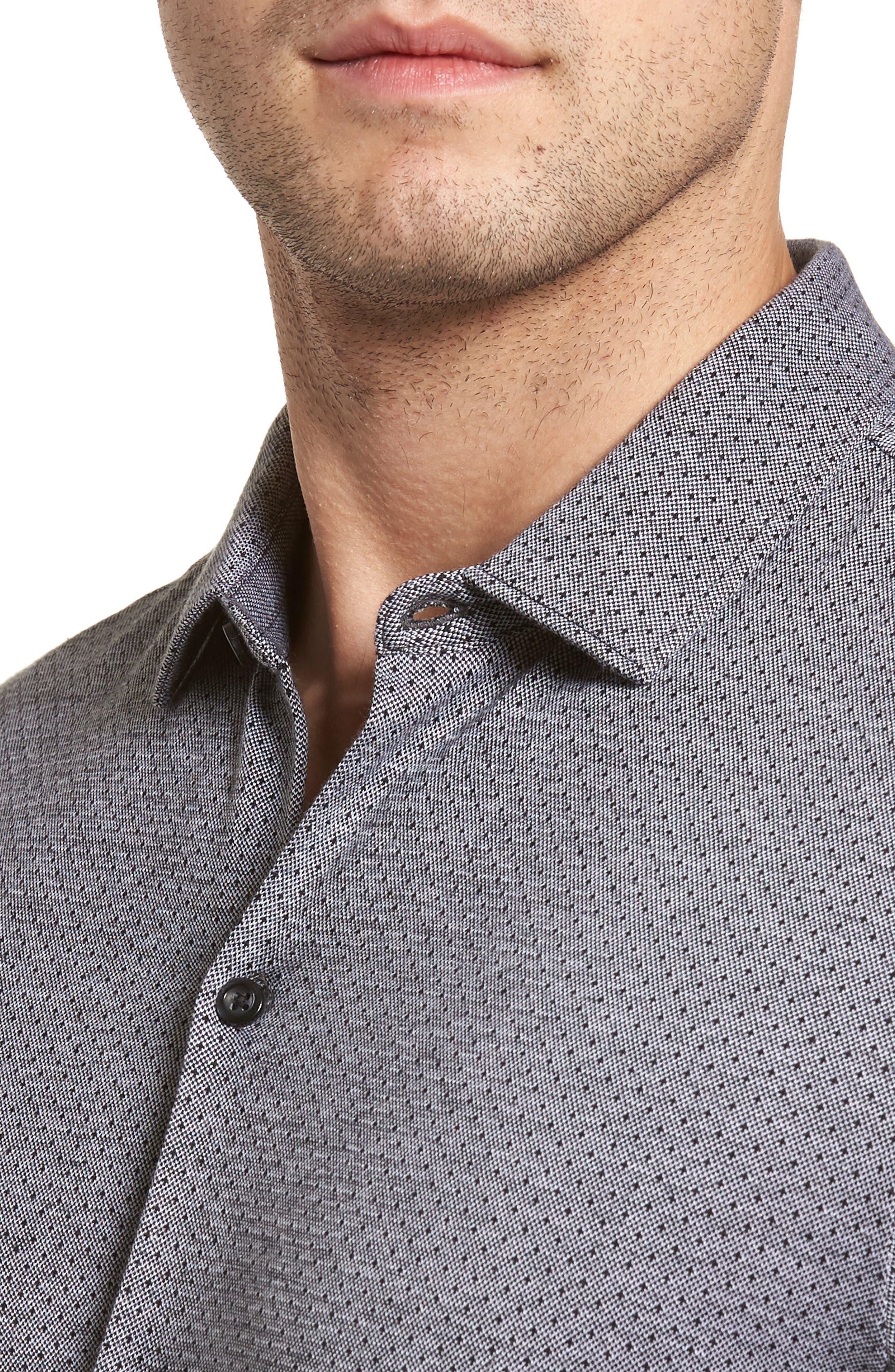 Johnson Sport Shirt,                             Alternate thumbnail 4, color,                             001