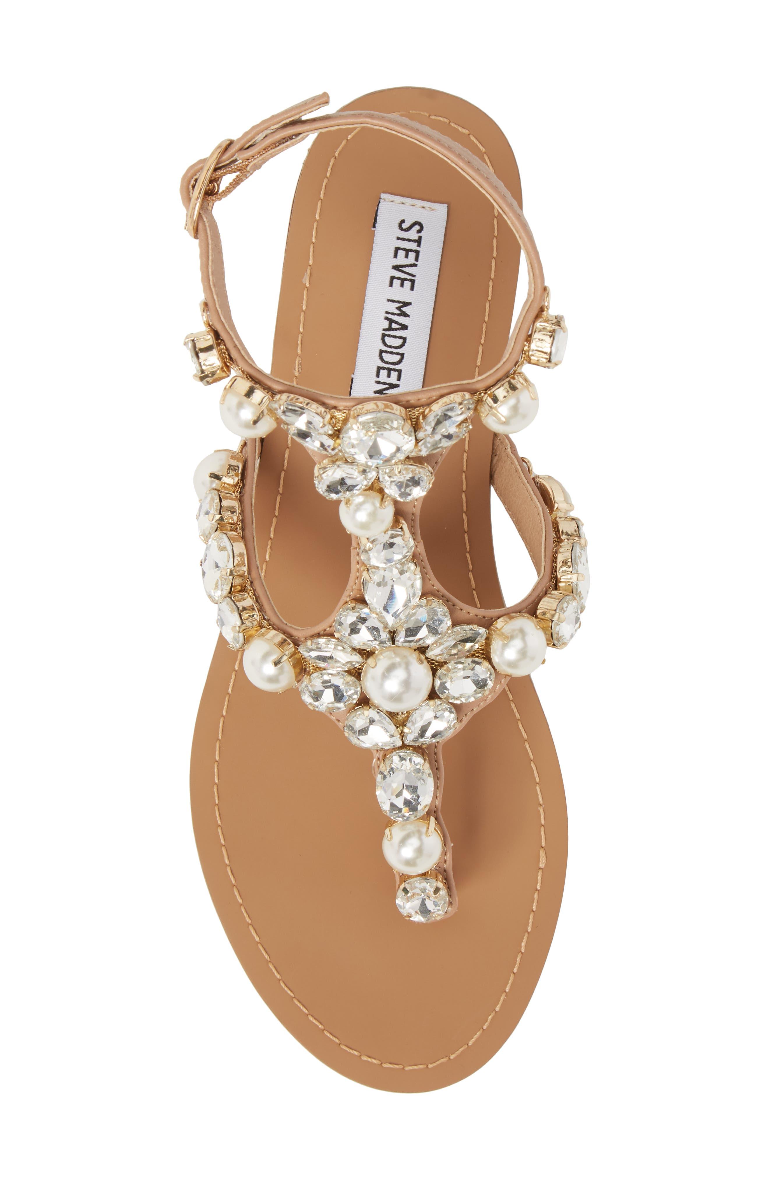 Chantel Crystal Embellished Sandal,                             Alternate thumbnail 10, color,