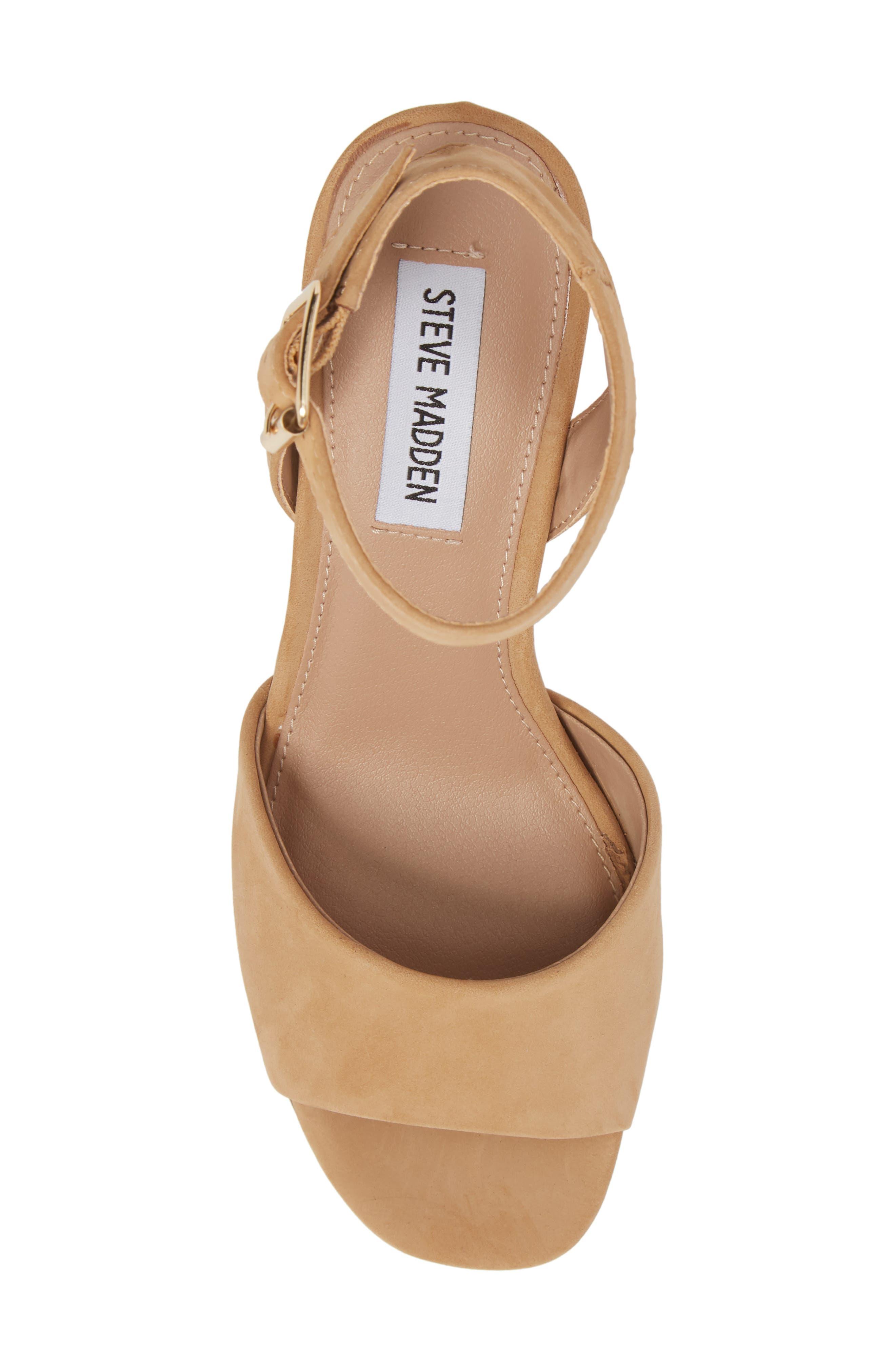 Devlin Block Heel Sandal,                             Alternate thumbnail 5, color,                             200