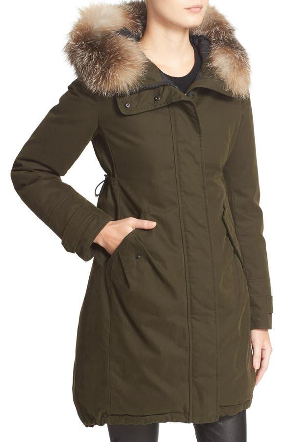 moncler evanthia coat