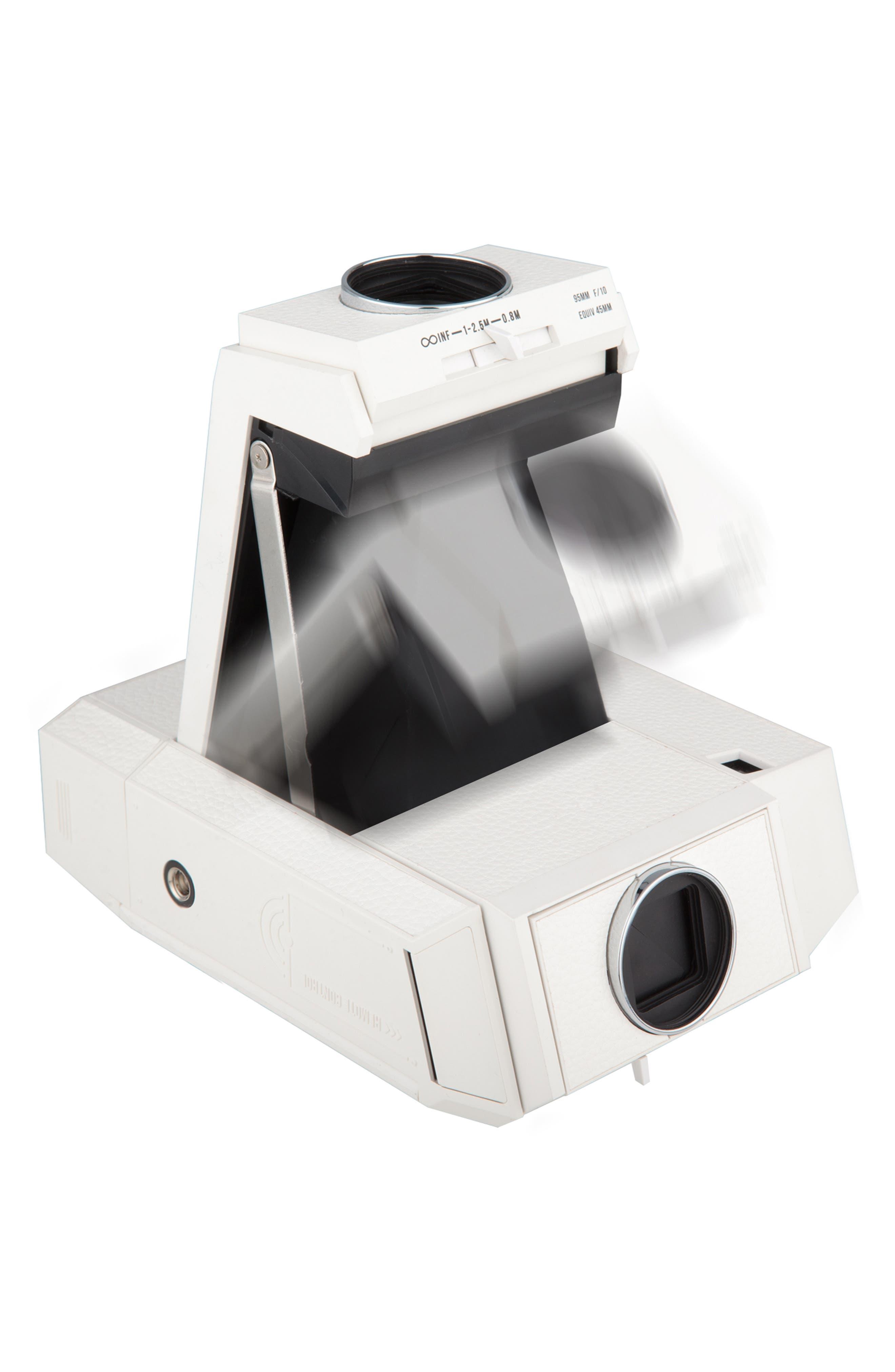 Lomo'Instant Square Glass Black Edition Instant Camera,                             Alternate thumbnail 8, color,                             WHITE