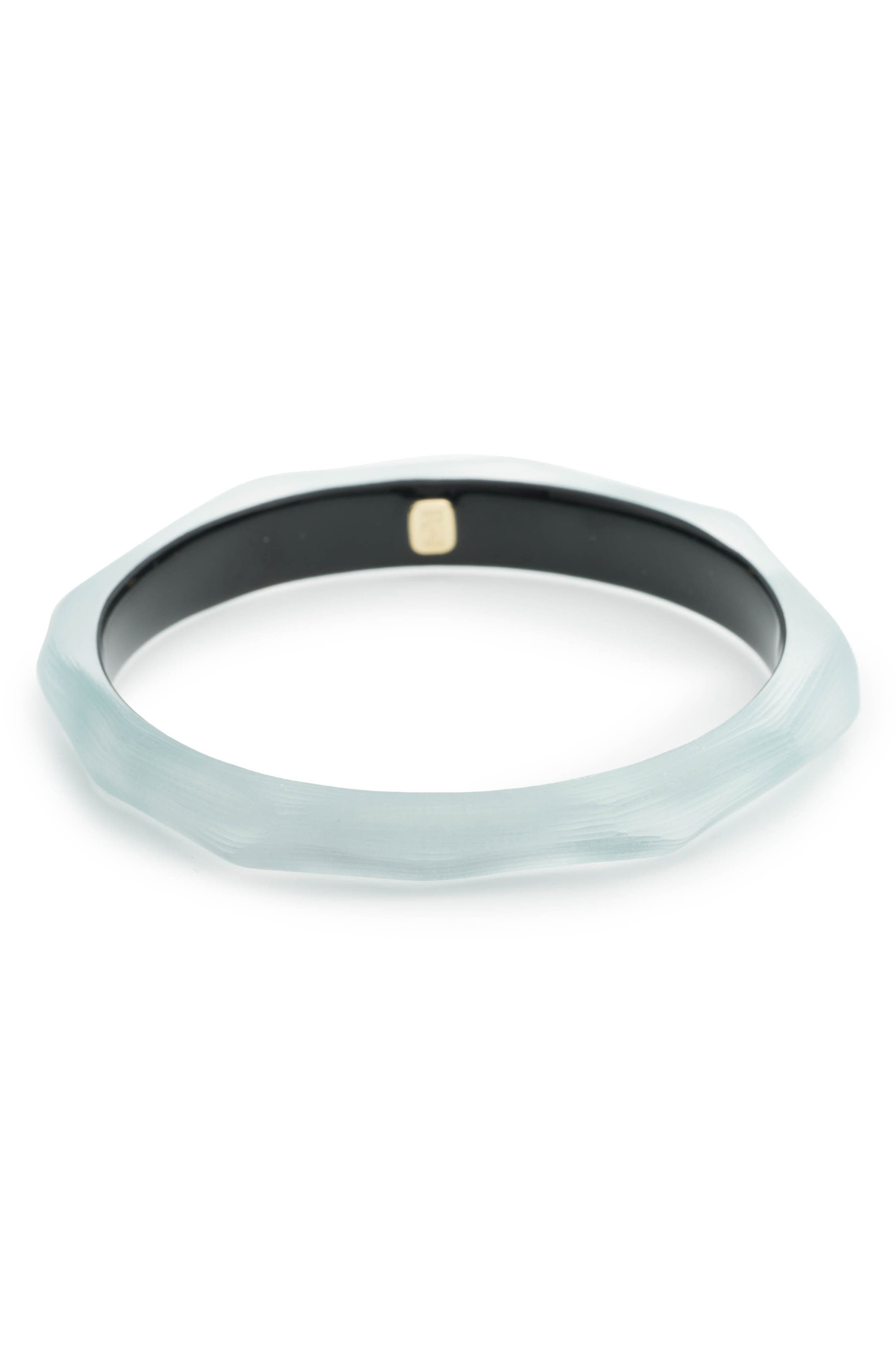 Faceted Lucite<sup>®</sup> Bangle,                             Alternate thumbnail 8, color,