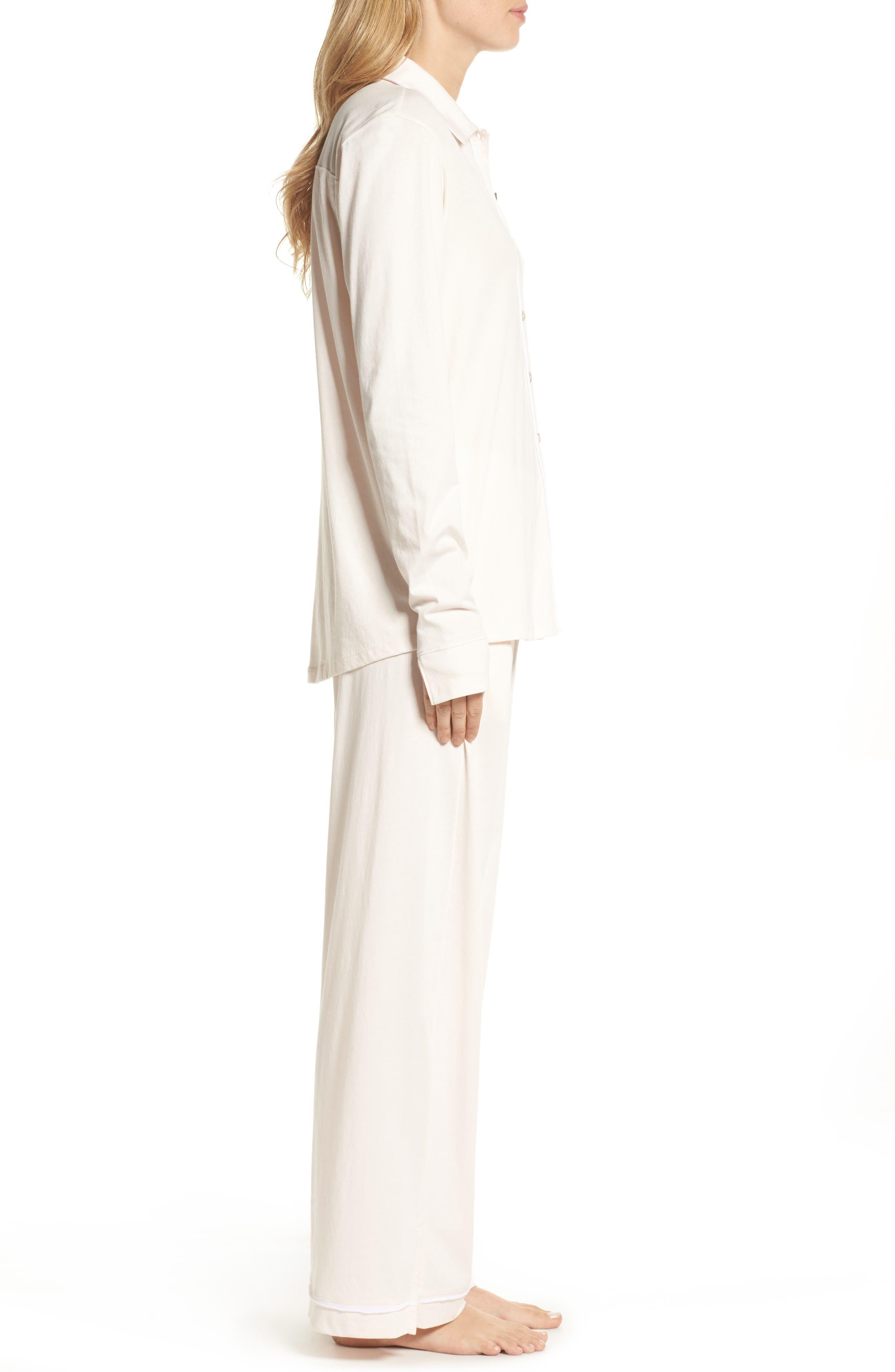 Penelope Pima Cotton Pajamas,                             Alternate thumbnail 3, color,                             689