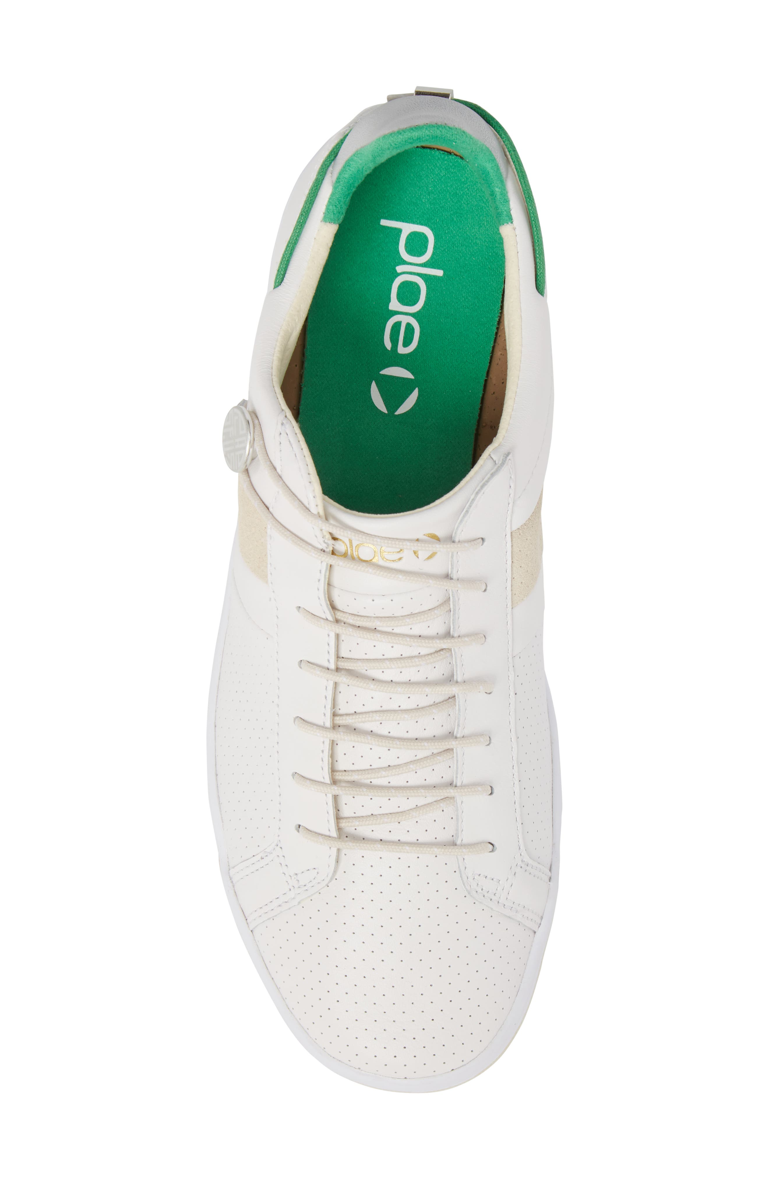 Mulberry Low Top Sneaker,                             Alternate thumbnail 5, color,                             WHITE