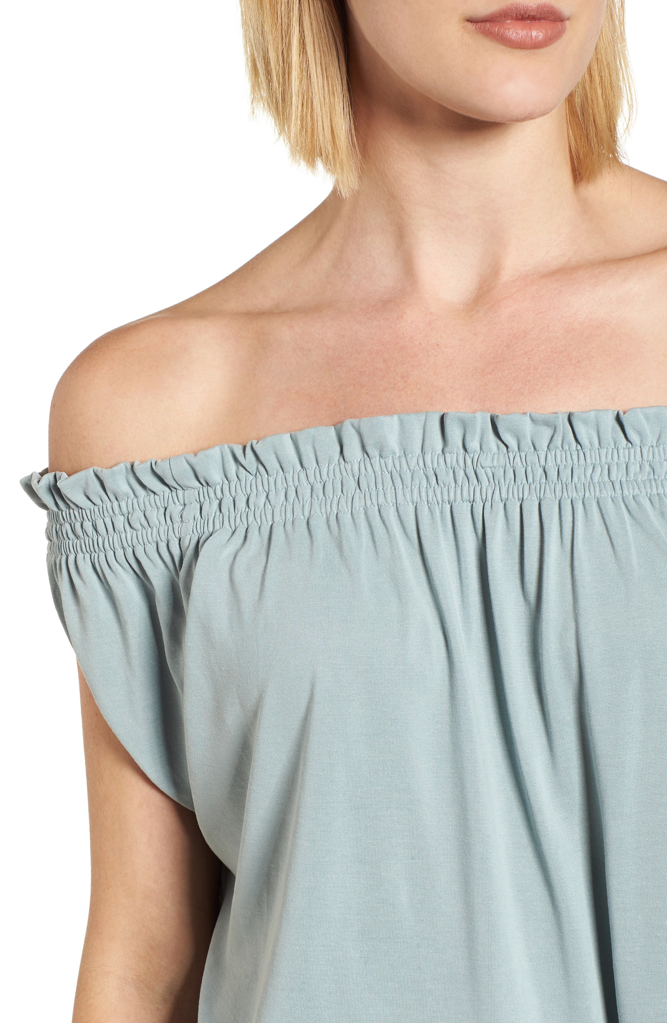 Off the Shoulder Top,                             Alternate thumbnail 4, color,                             310