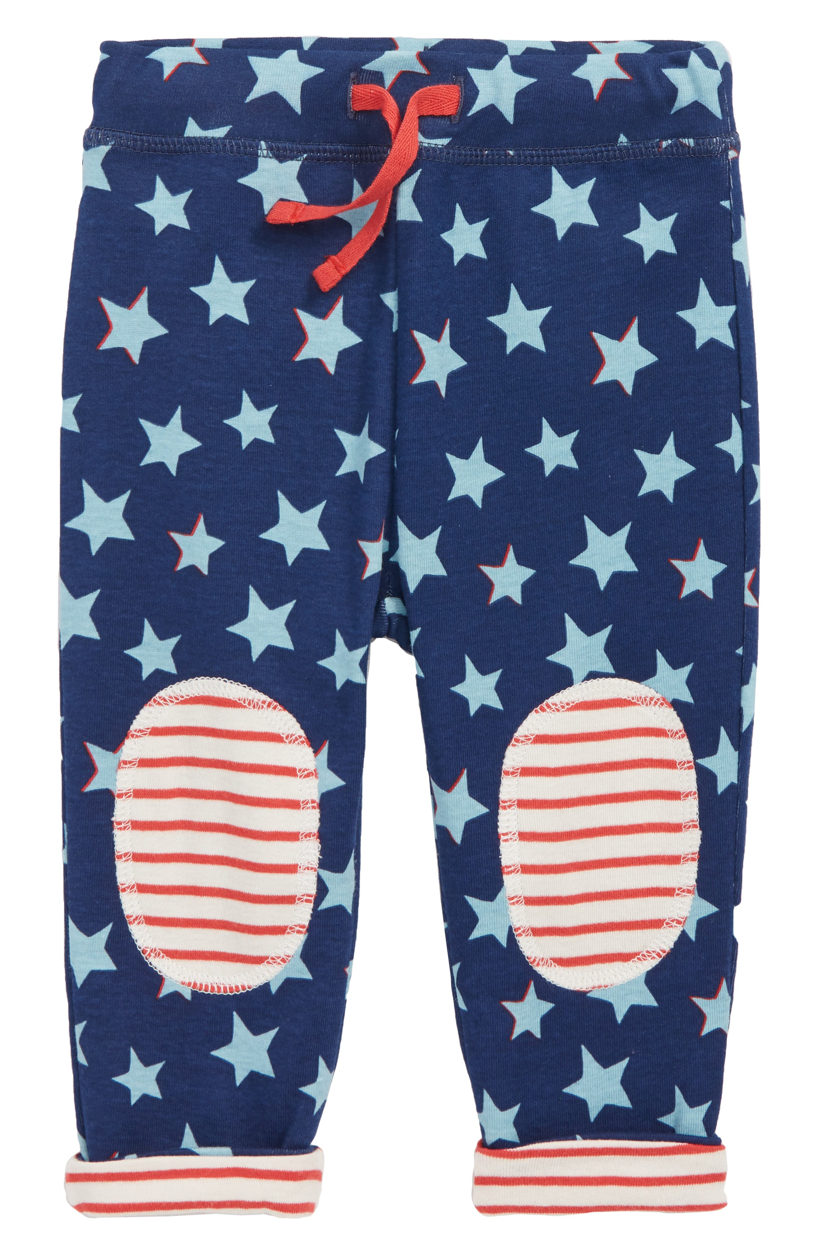 Infant Boys Mini Boden Knee Patch Reversible Pants