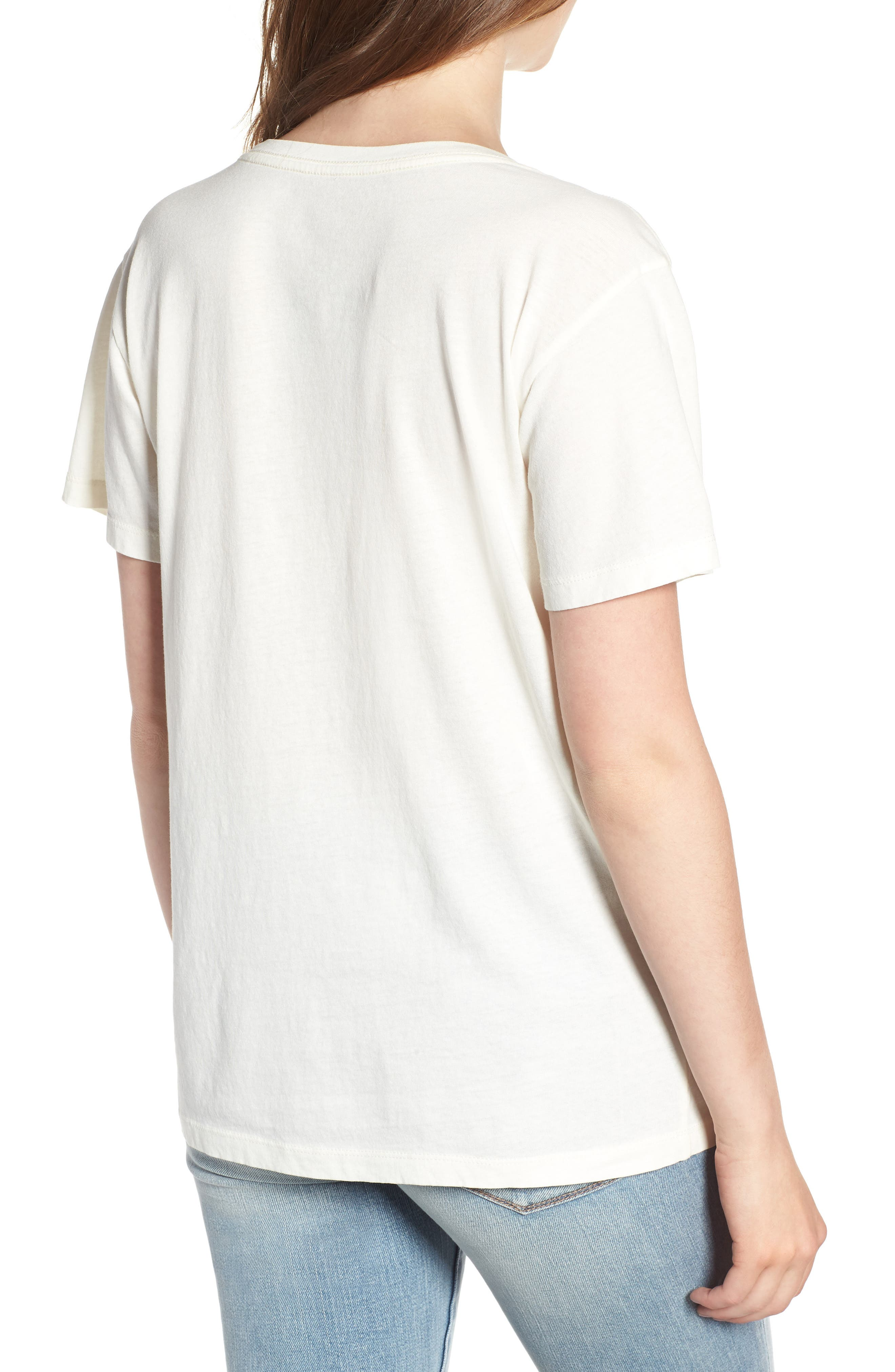 Flower Pocket Tee,                             Alternate thumbnail 2, color,