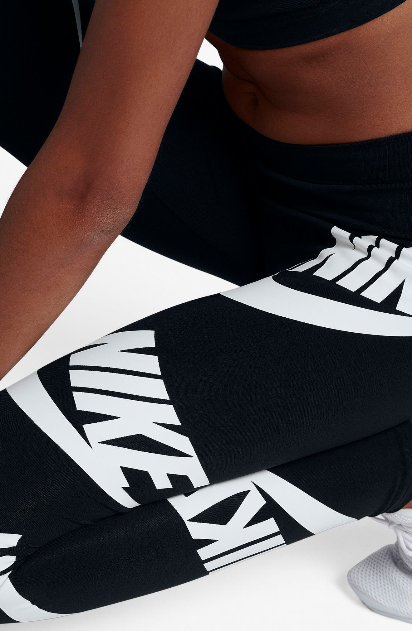 Sportswear Graphic Leggings,                             Alternate thumbnail 28, color,