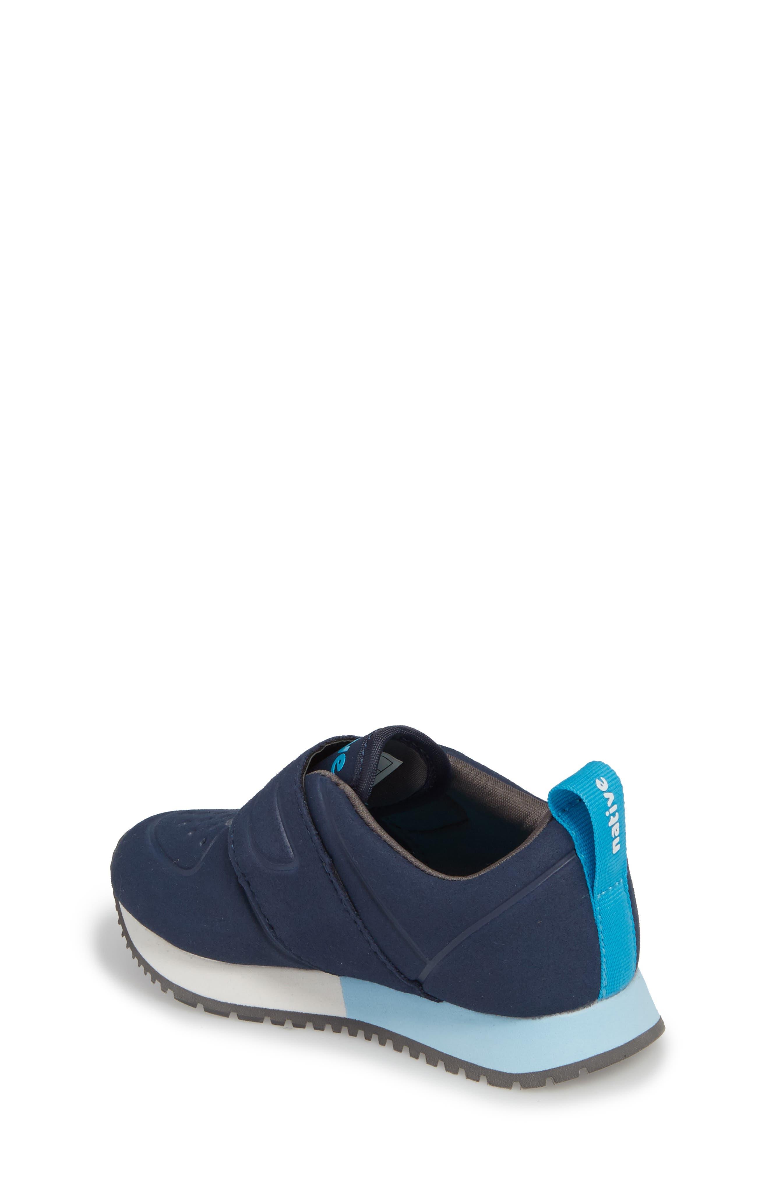 Native Cornell Perforated Sneaker,                             Alternate thumbnail 2, color,                             REGATTA BLUE/ SHELL WHITE