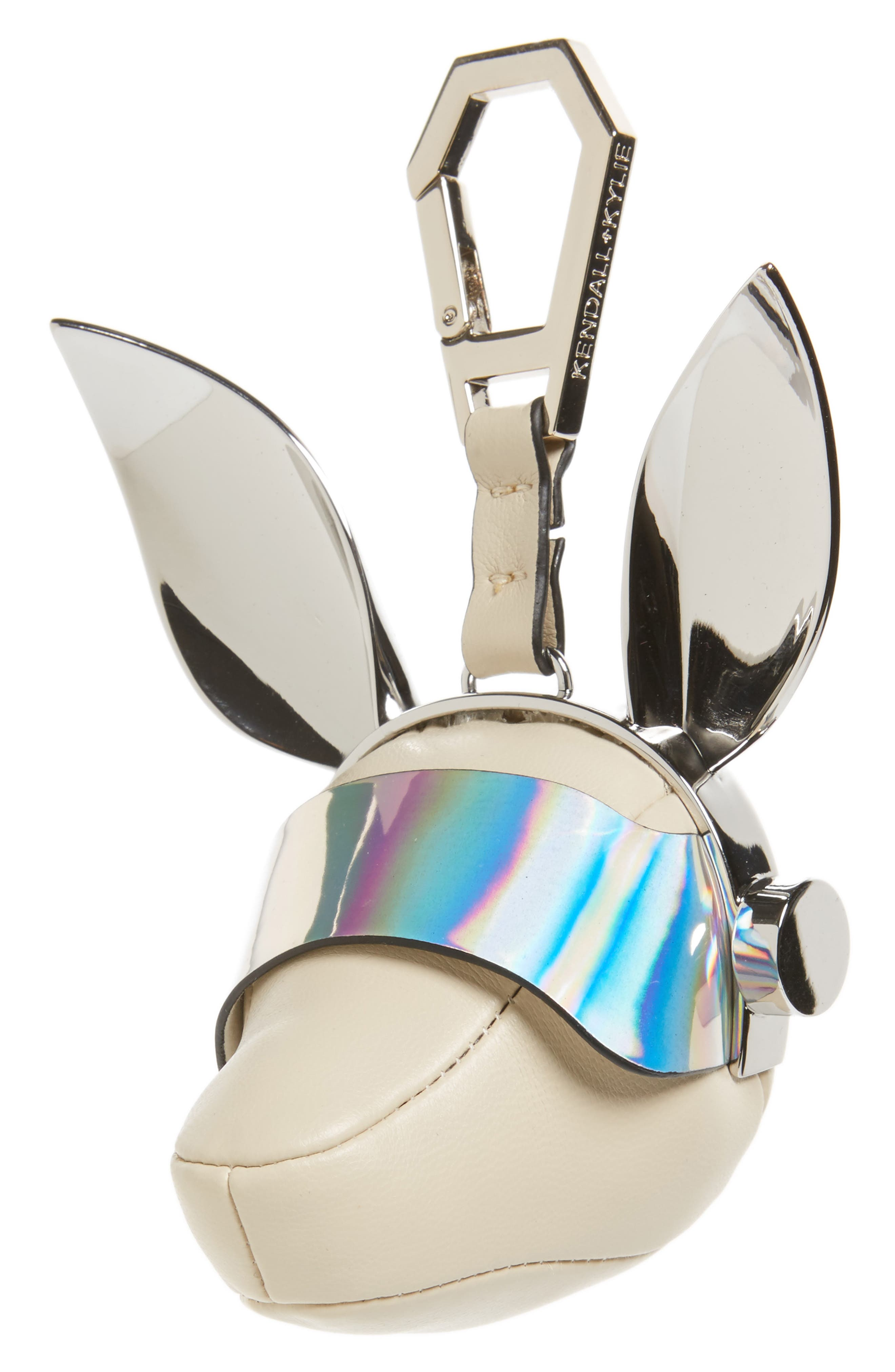 Blu Visor Bag Charm,                         Main,                         color,