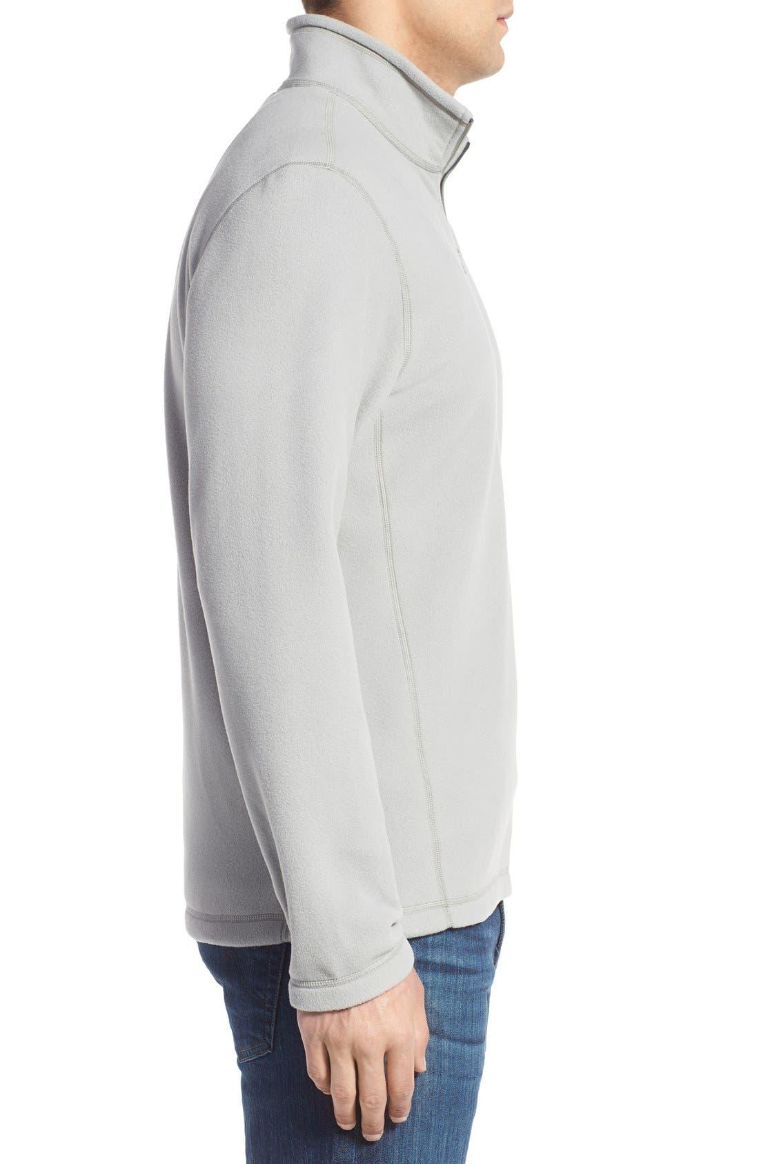 'TKA 100 Glacier' Quarter Zip Fleece Pullover,                             Alternate thumbnail 209, color,