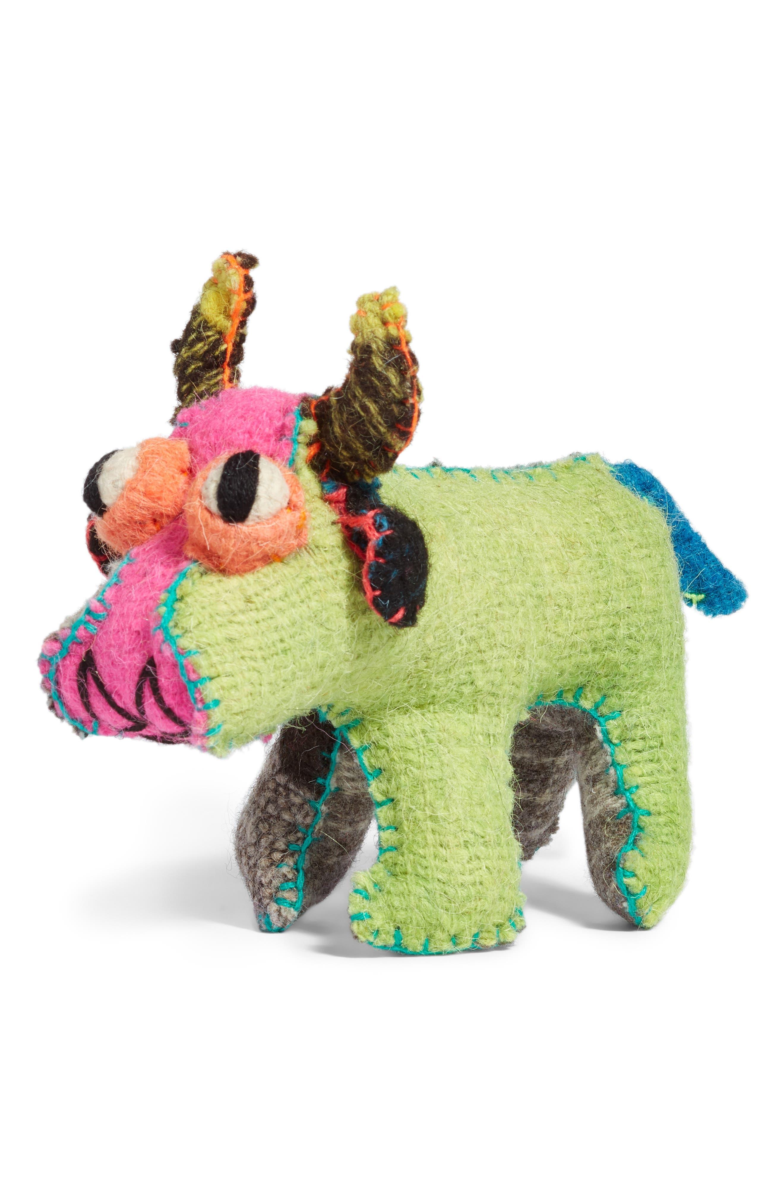 Bull Stuffed Animal,                         Main,                         color, 960