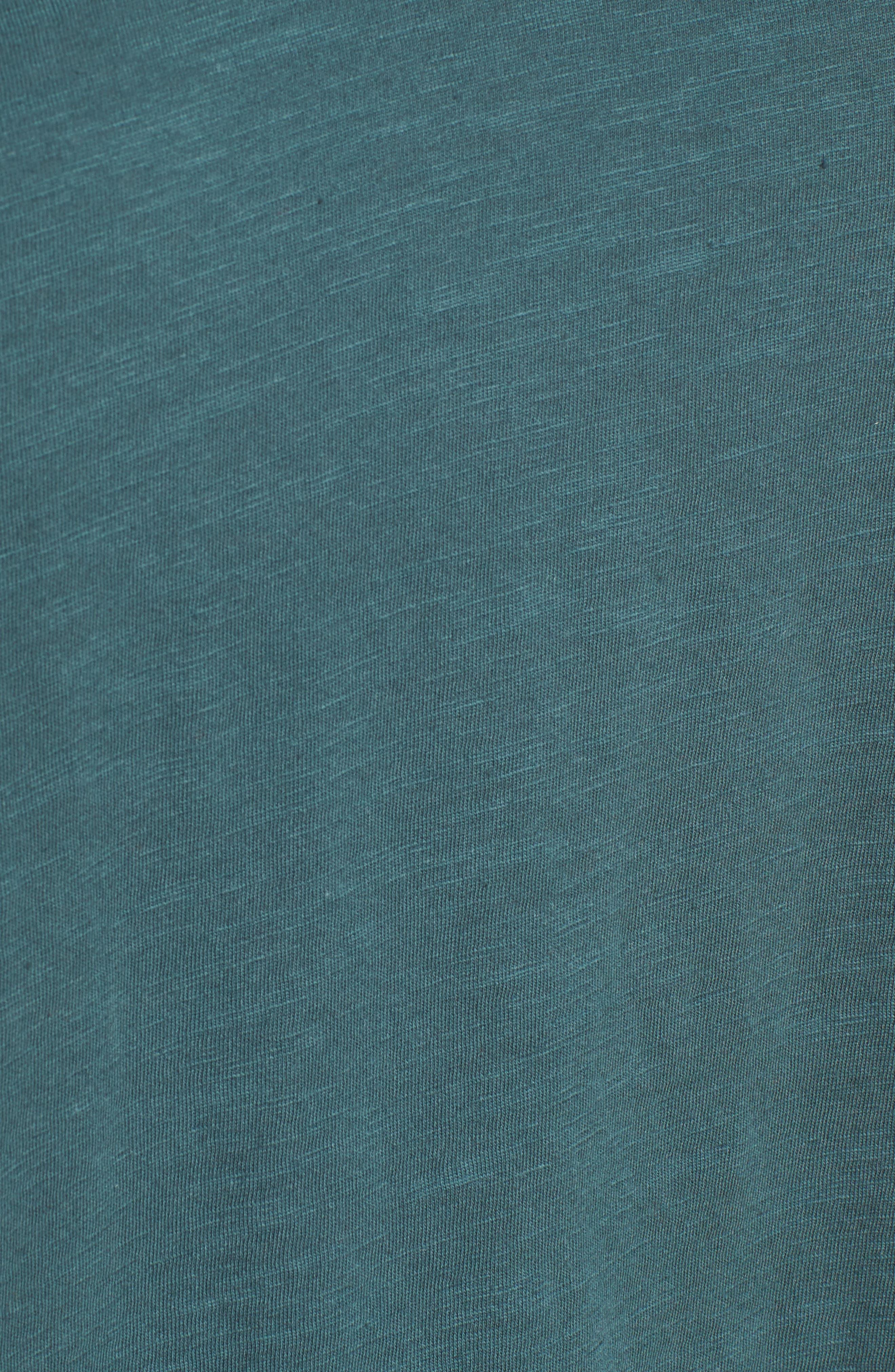 Organic Cotton V-Neck Tee,                             Alternate thumbnail 68, color,