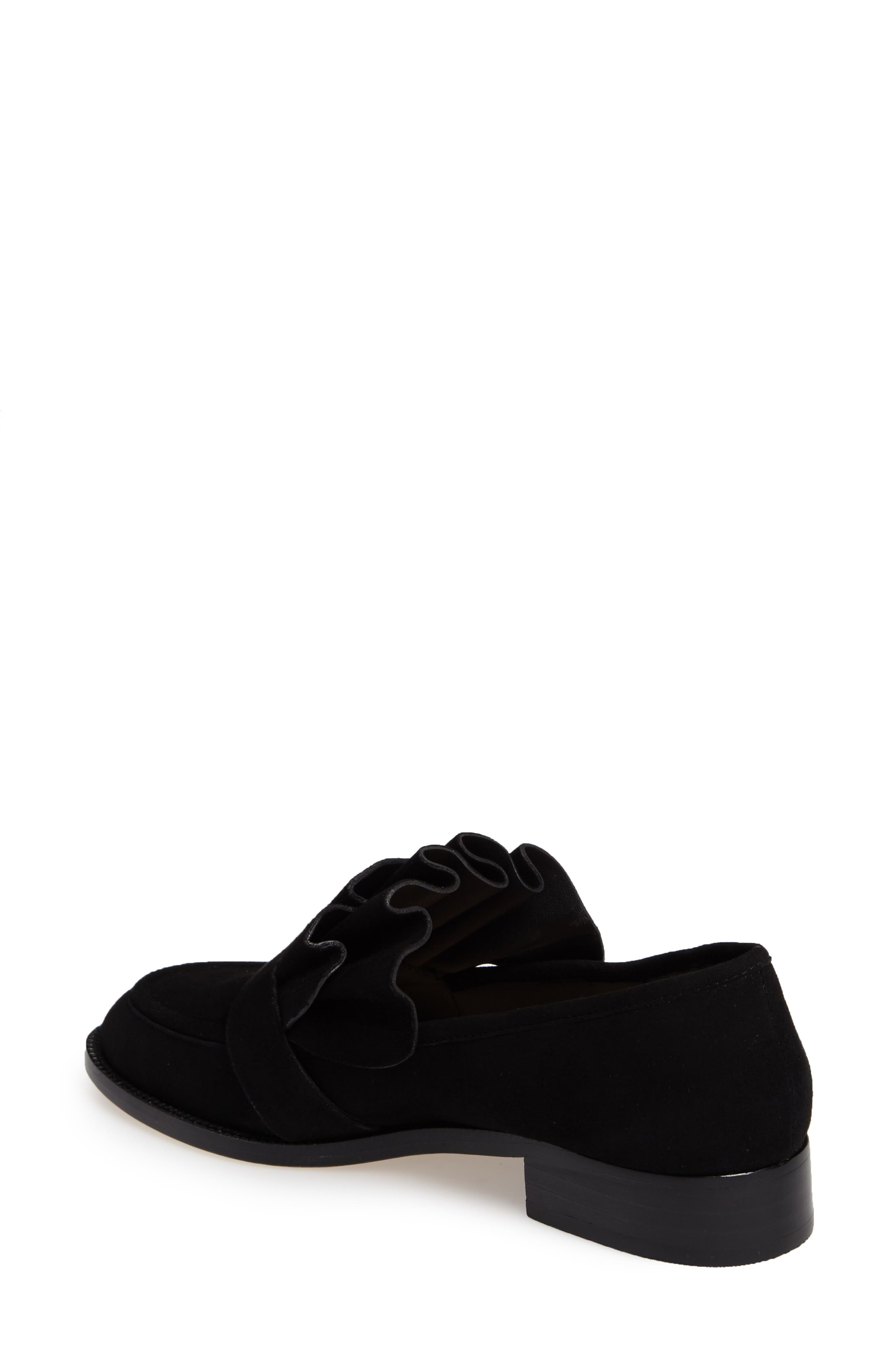 Tenley Ruffled Loafer,                             Alternate thumbnail 6, color,