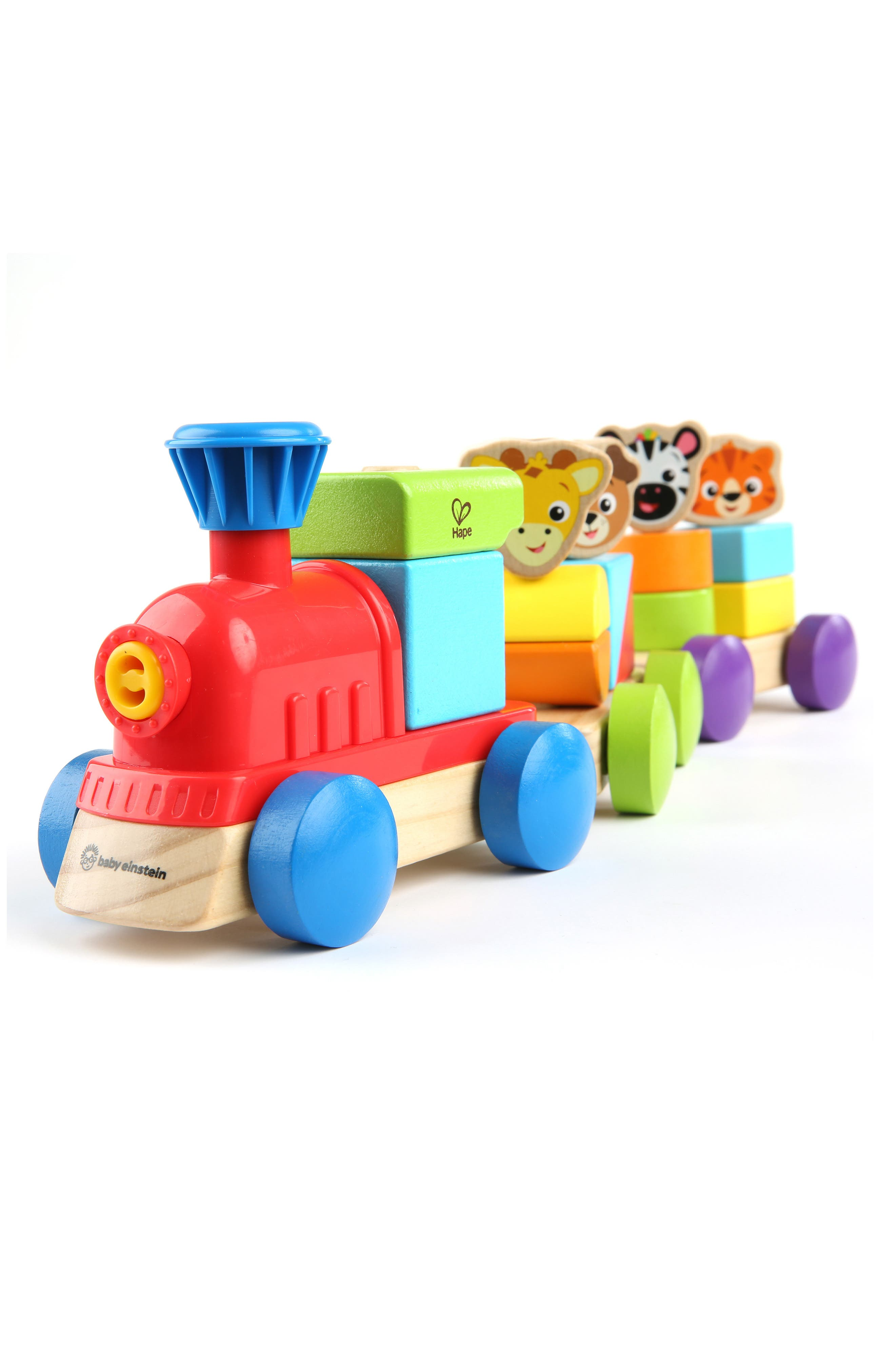 Discovery Train Wooden Toy,                             Main thumbnail 1, color,                             BLUE