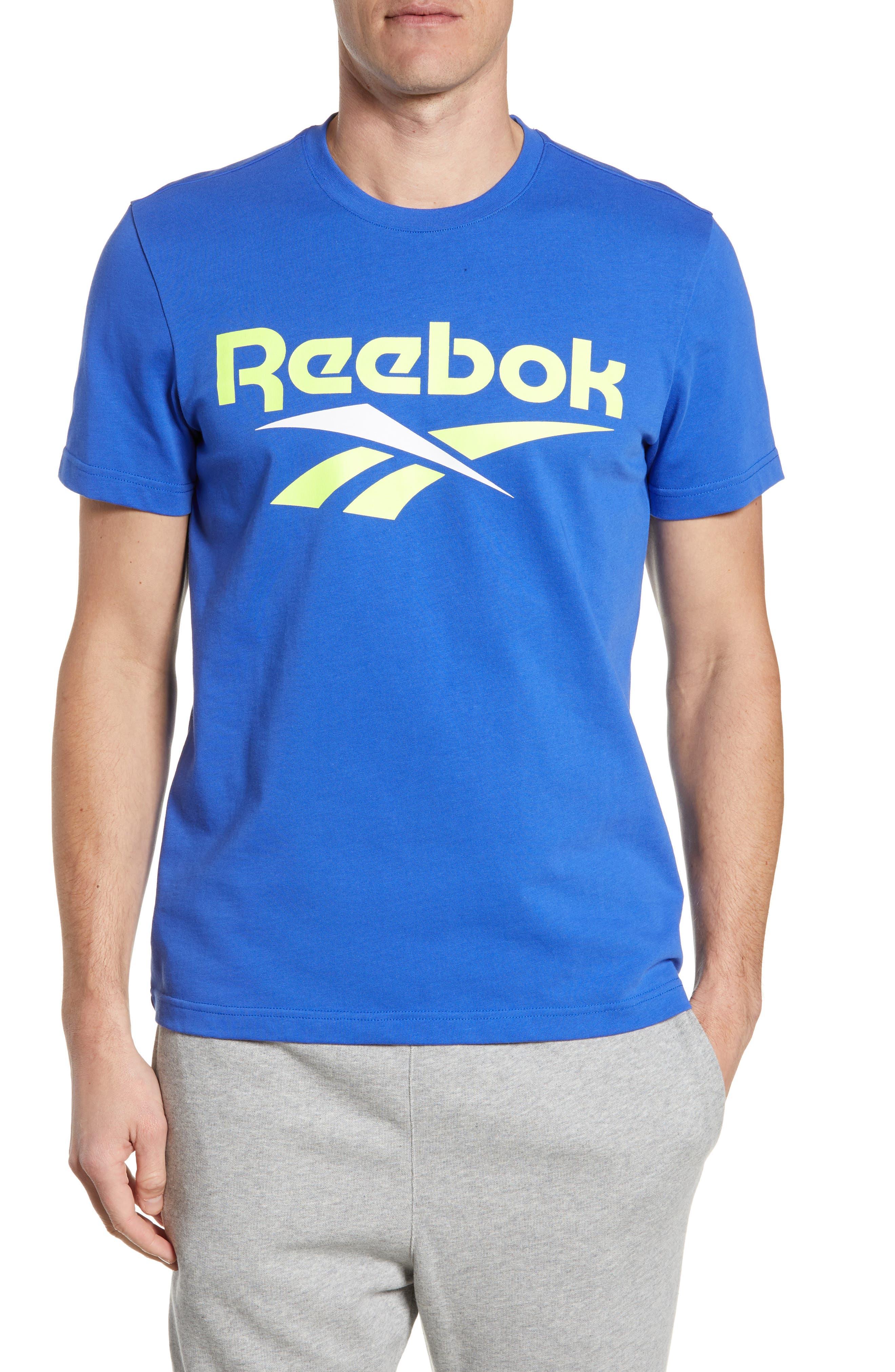 Reebok Classics Vector Logo T-Shirt, Blue