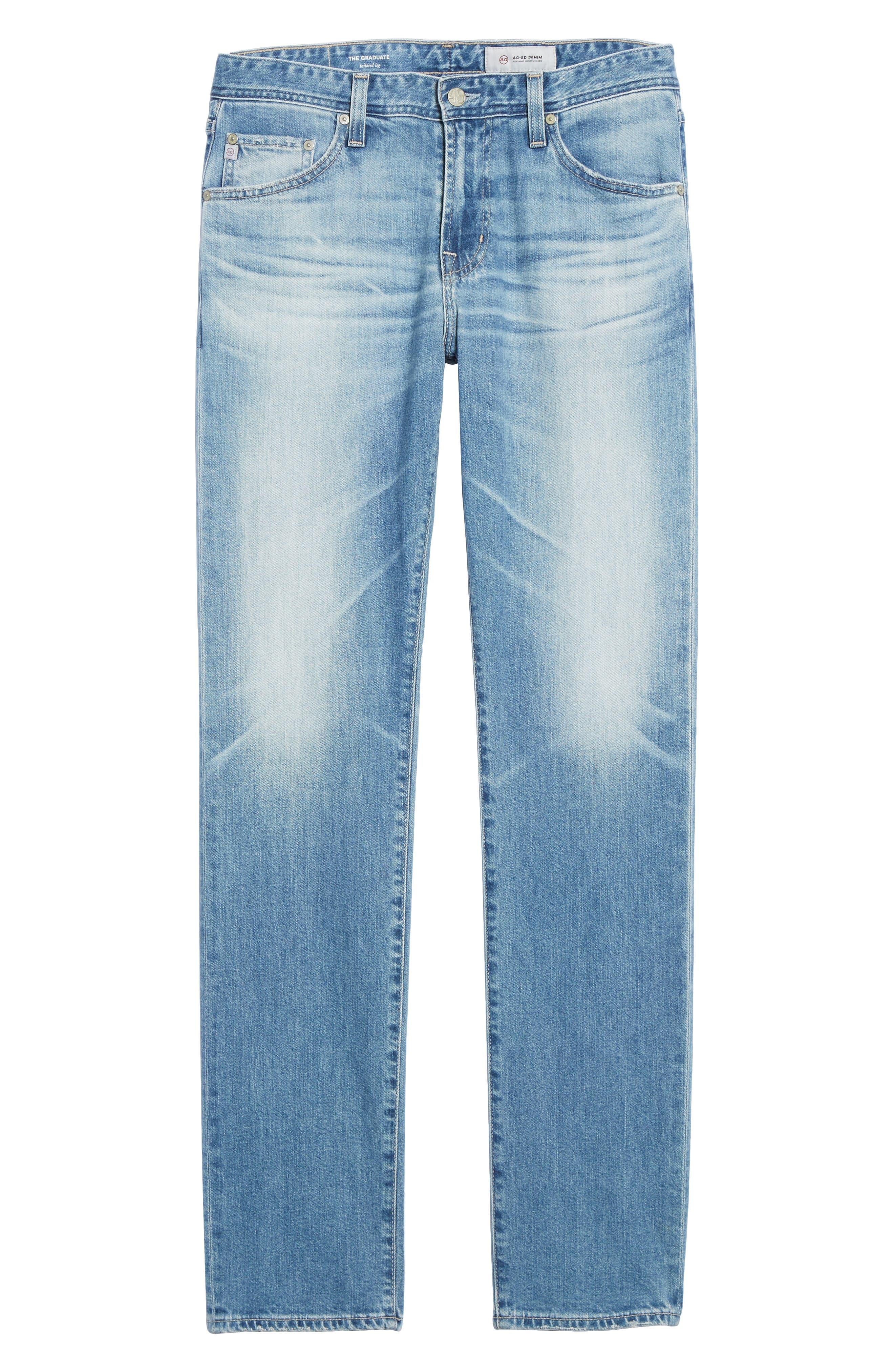 Graduate Slim Straight Leg Jeans,                             Alternate thumbnail 12, color,