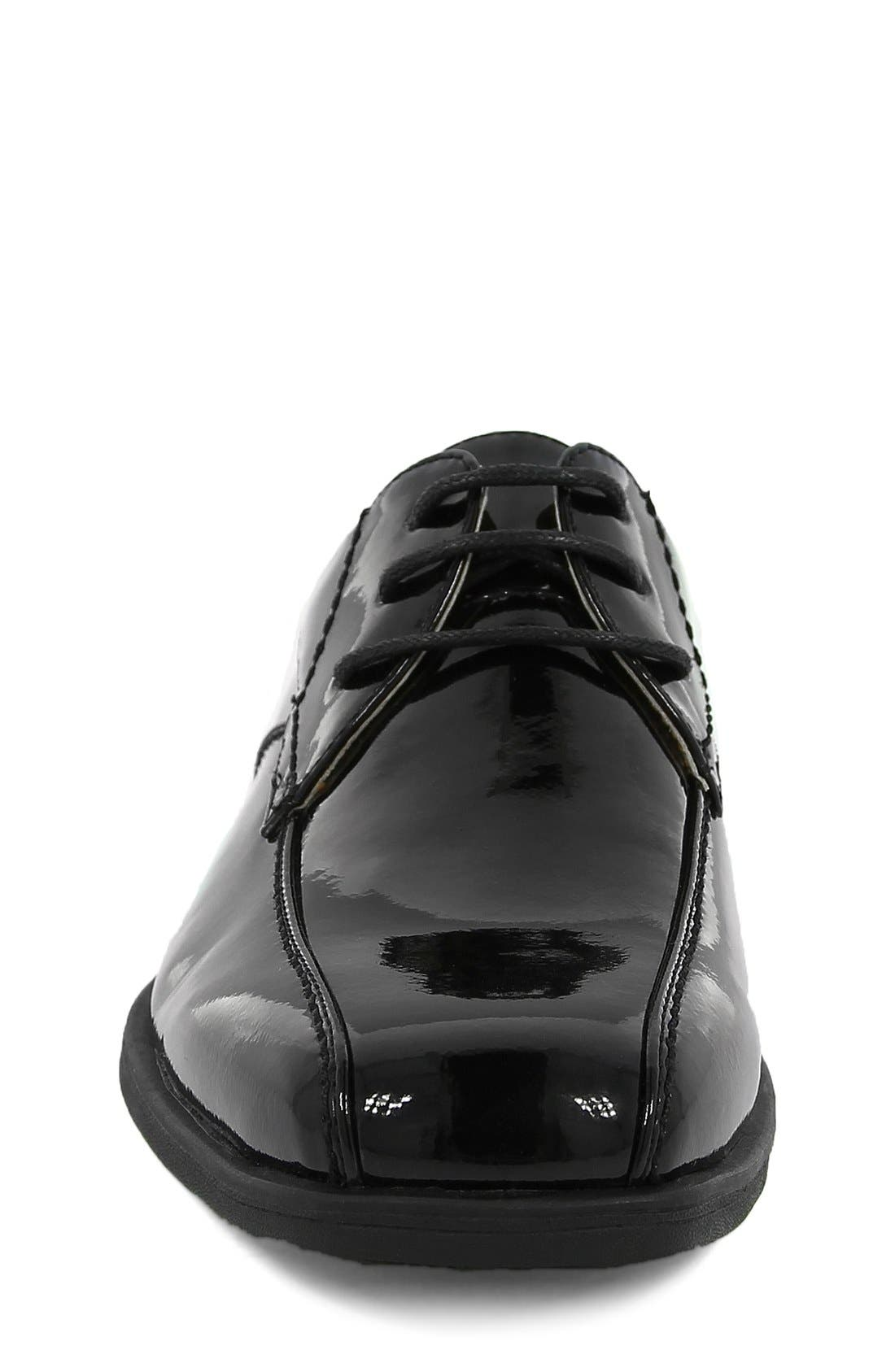 'Reveal' Oxford,                             Alternate thumbnail 6, color,                             BLACK PATENT LEATHER