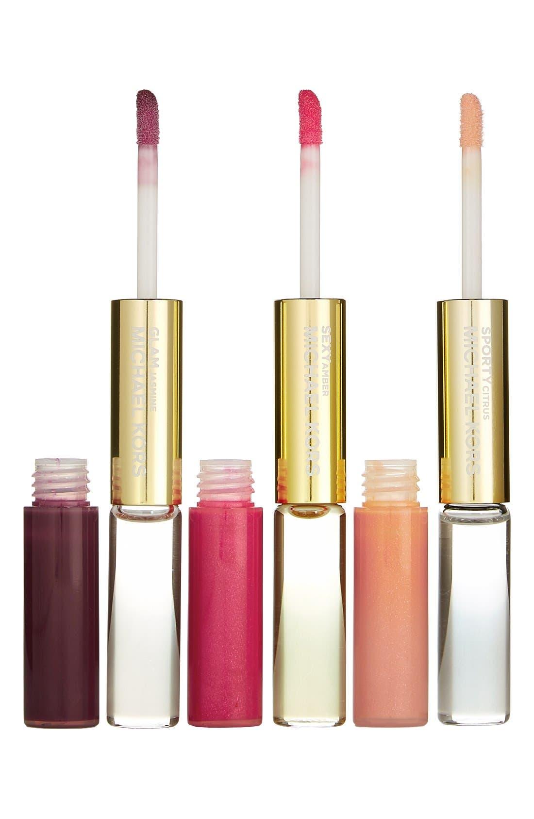 Dual-Ended Eau de Parfum Rollerball & Lip Luster Set,                             Alternate thumbnail 2, color,                             000