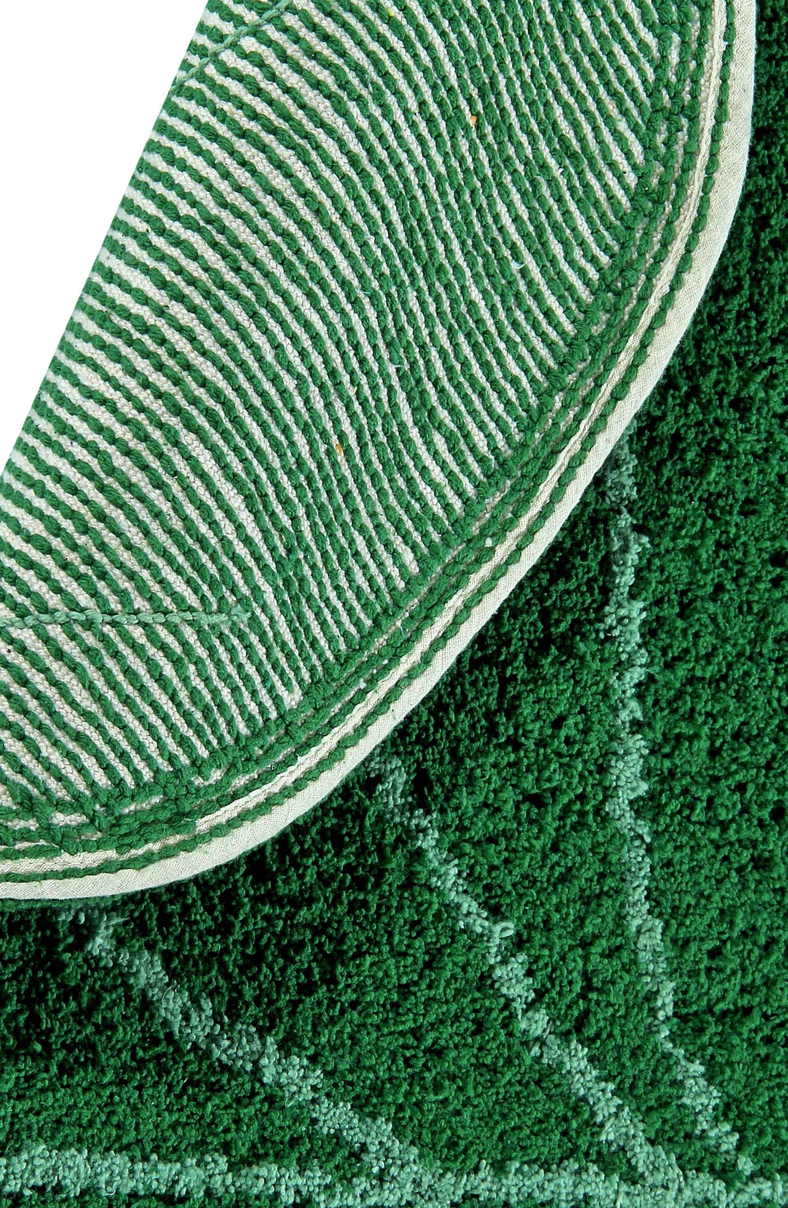 Monstera Leaf Rug,                             Alternate thumbnail 3, color,                             MONSTERA LEAF