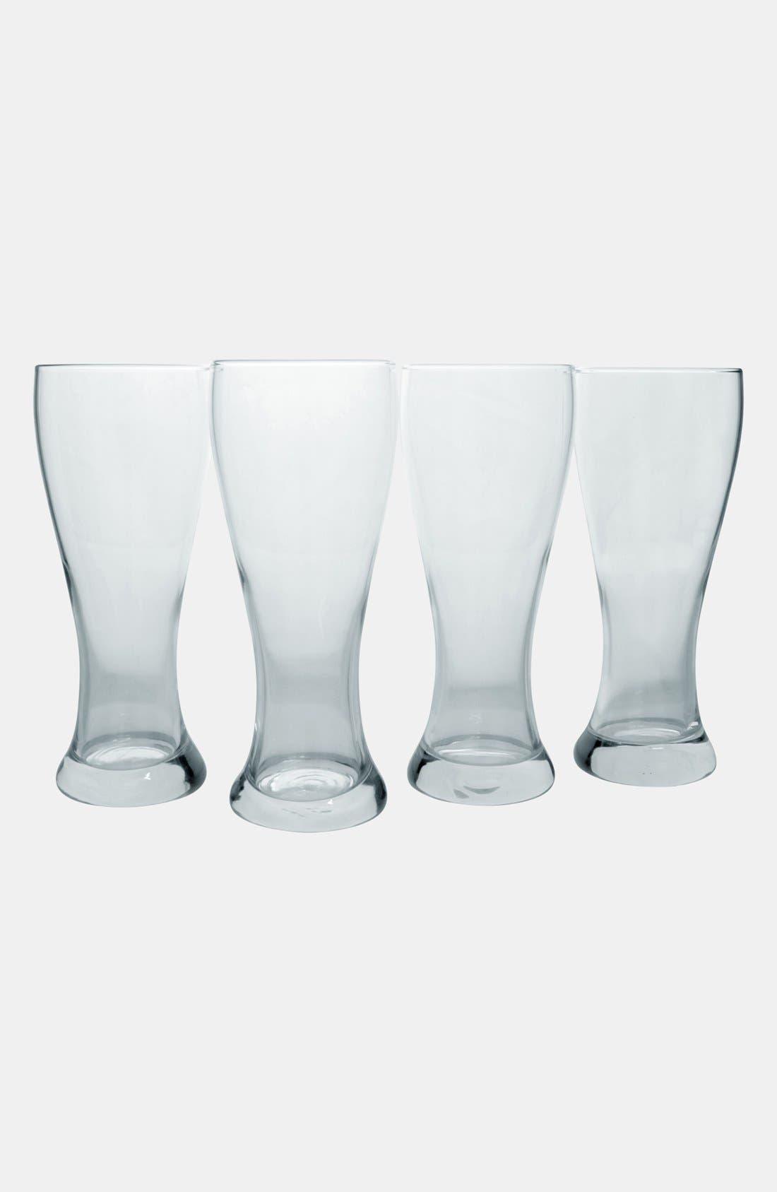 Monogram Pilsner Glasses,                             Alternate thumbnail 29, color,