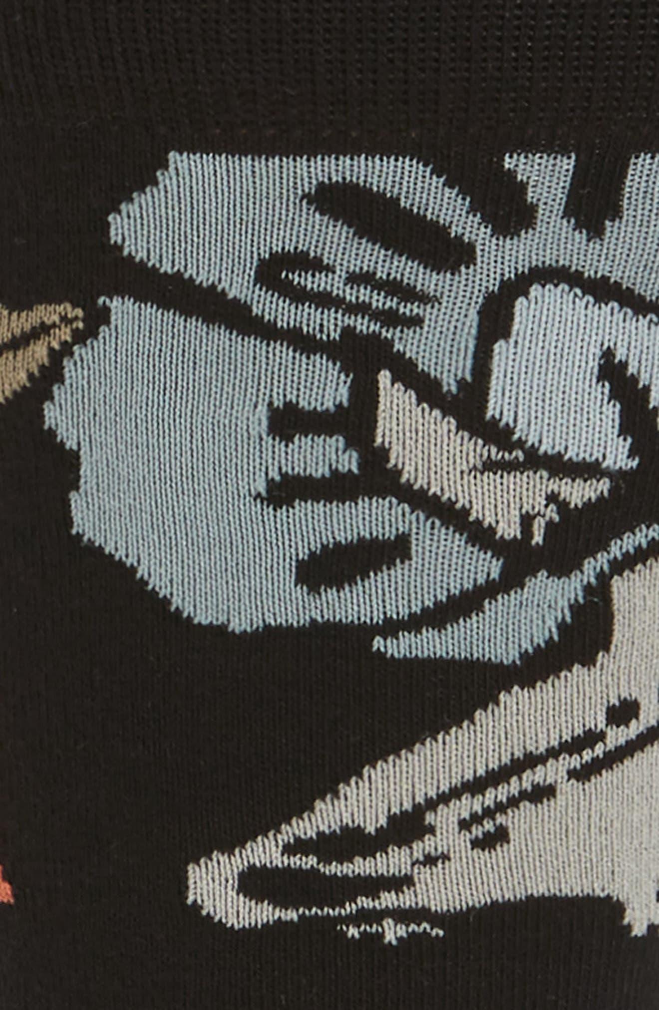 Yumas Crew Socks,                             Alternate thumbnail 2, color,                             001