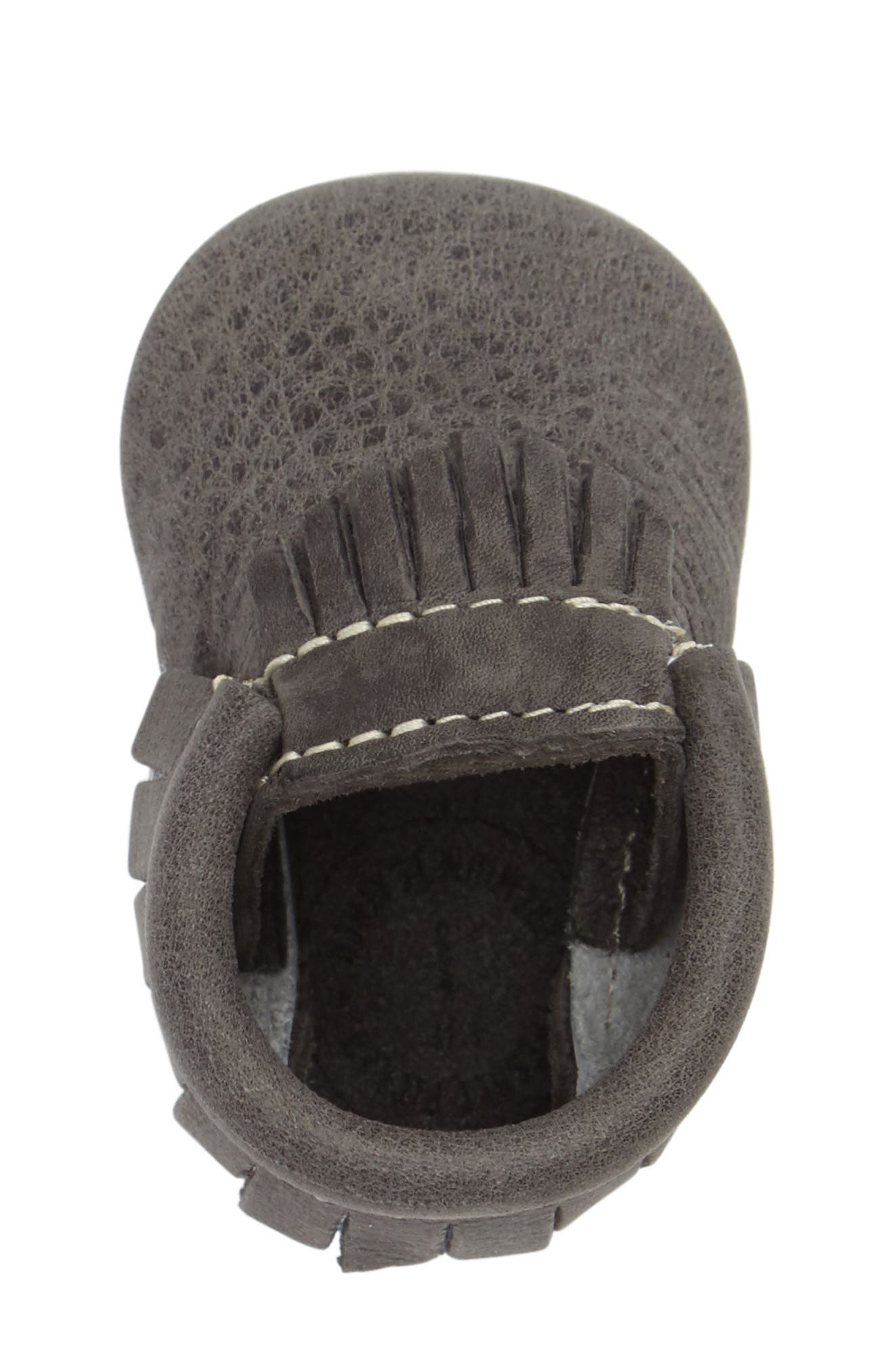 Leather Moccasin,                             Alternate thumbnail 3, color,                             021