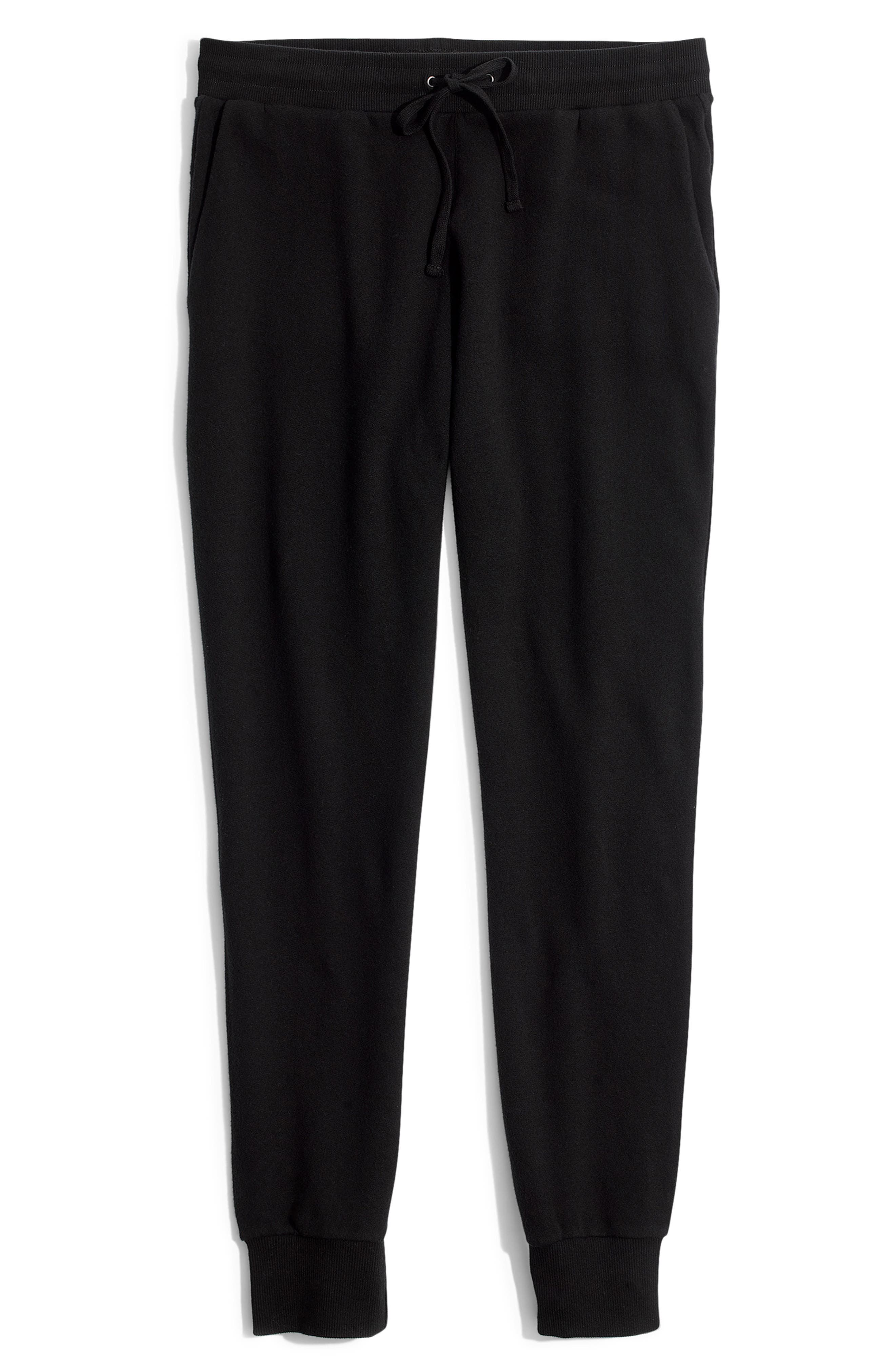 Terry Trouser Sweatpants,                             Alternate thumbnail 6, color,                             001