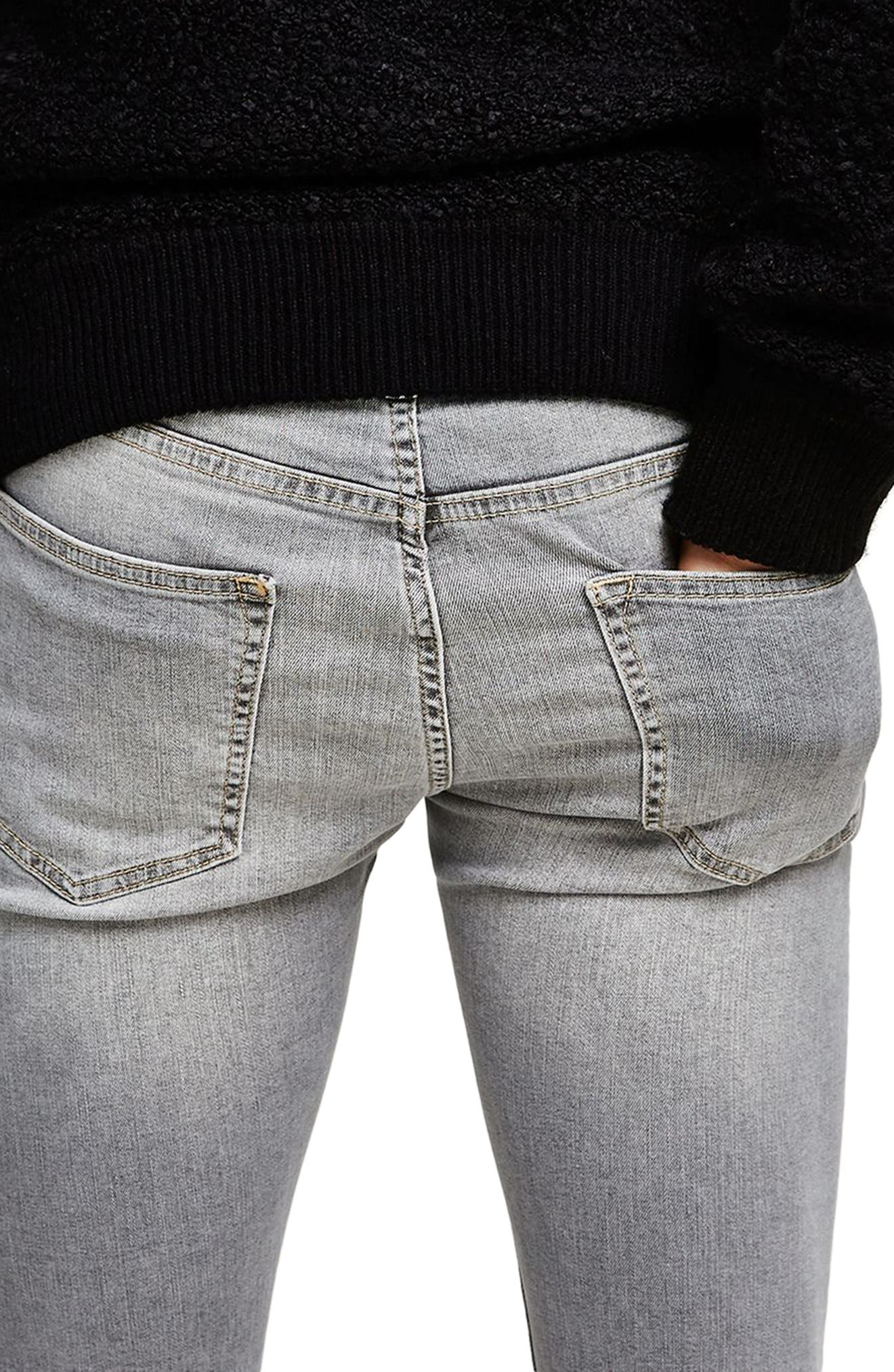 Spray-On Skinny Fit Jeans,                             Alternate thumbnail 3, color,                             020