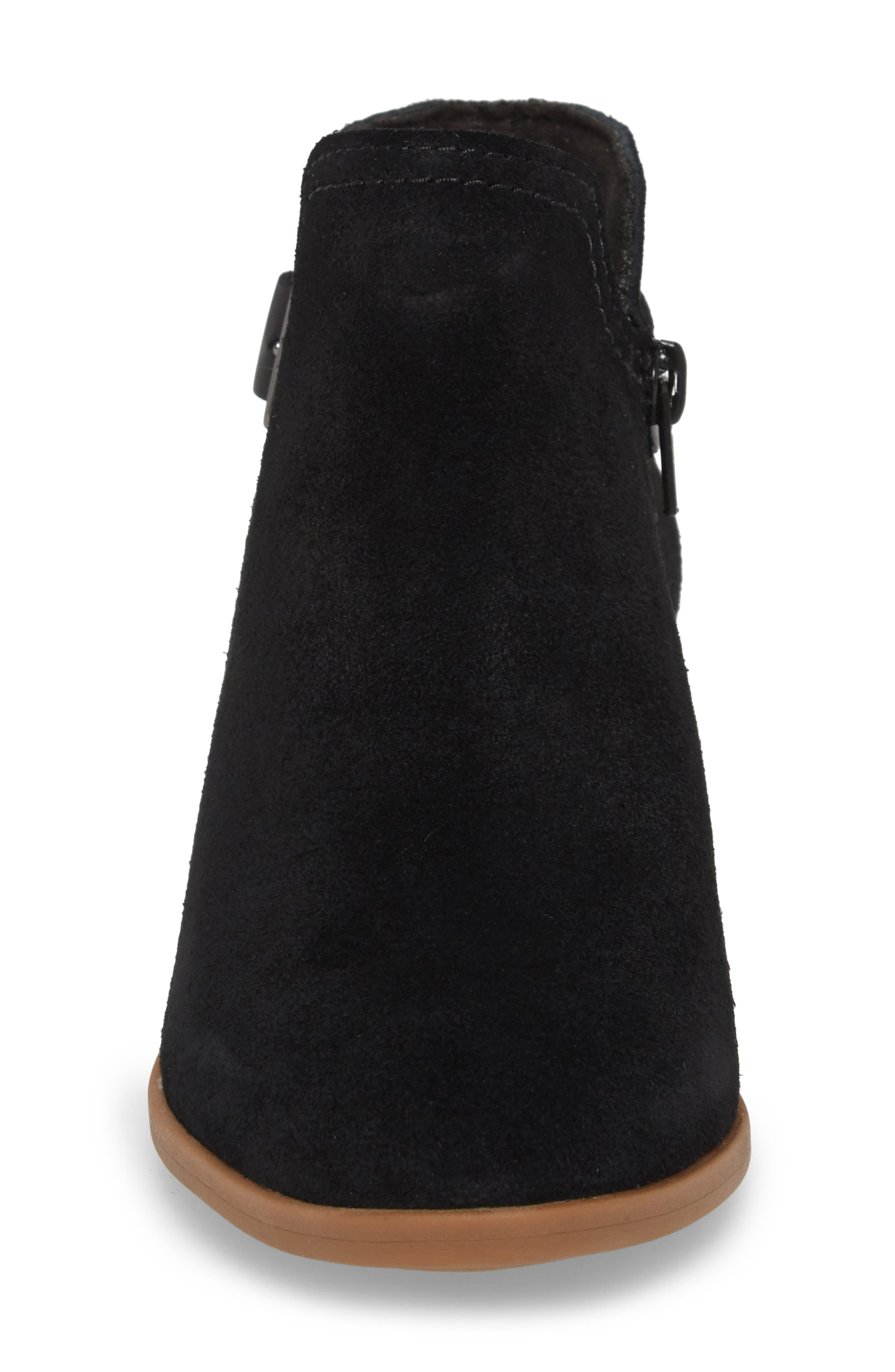 CLARKS<SUP>®</SUP>,                             Clark<sup>®</sup> Addiy Carisa Chelsea Boot,                             Alternate thumbnail 4, color,                             007