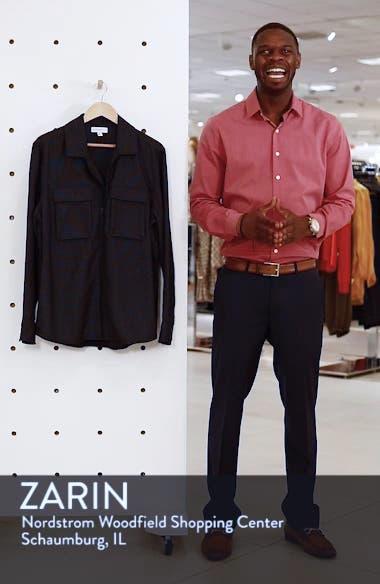Grid Zip Shirt Jacket, sales video thumbnail
