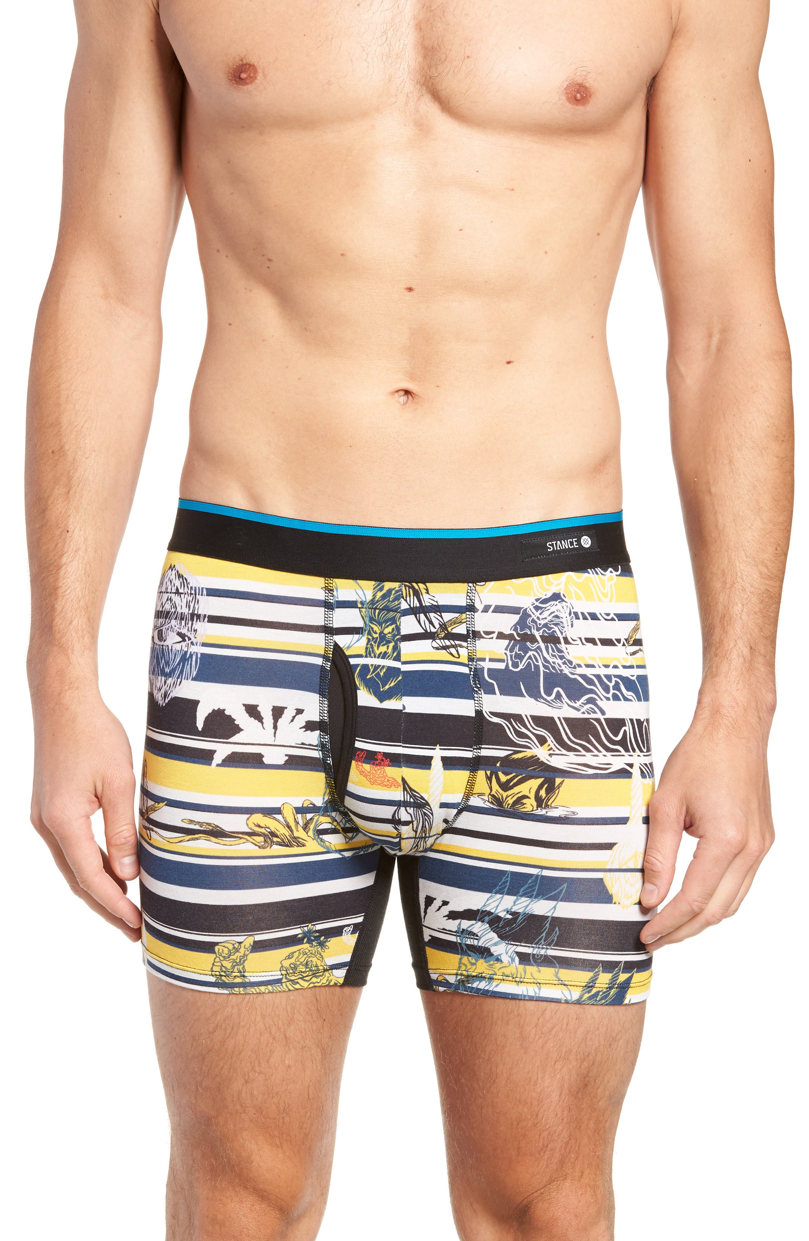 New Mythology Boxer Briefs,                         Main,                         color, YELLOW