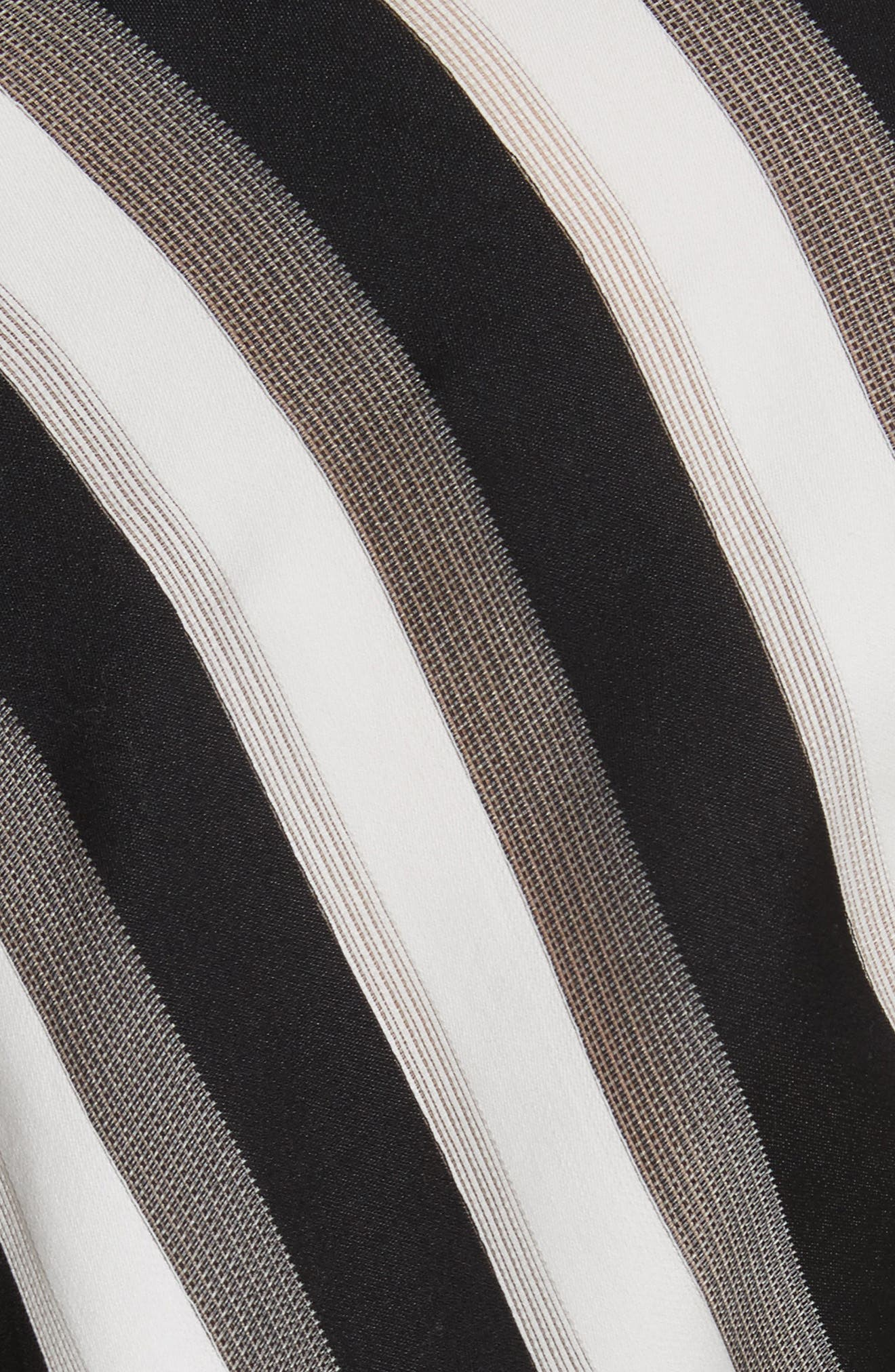 Stripe Bow Sleeve Shirt,                             Alternate thumbnail 5, color,