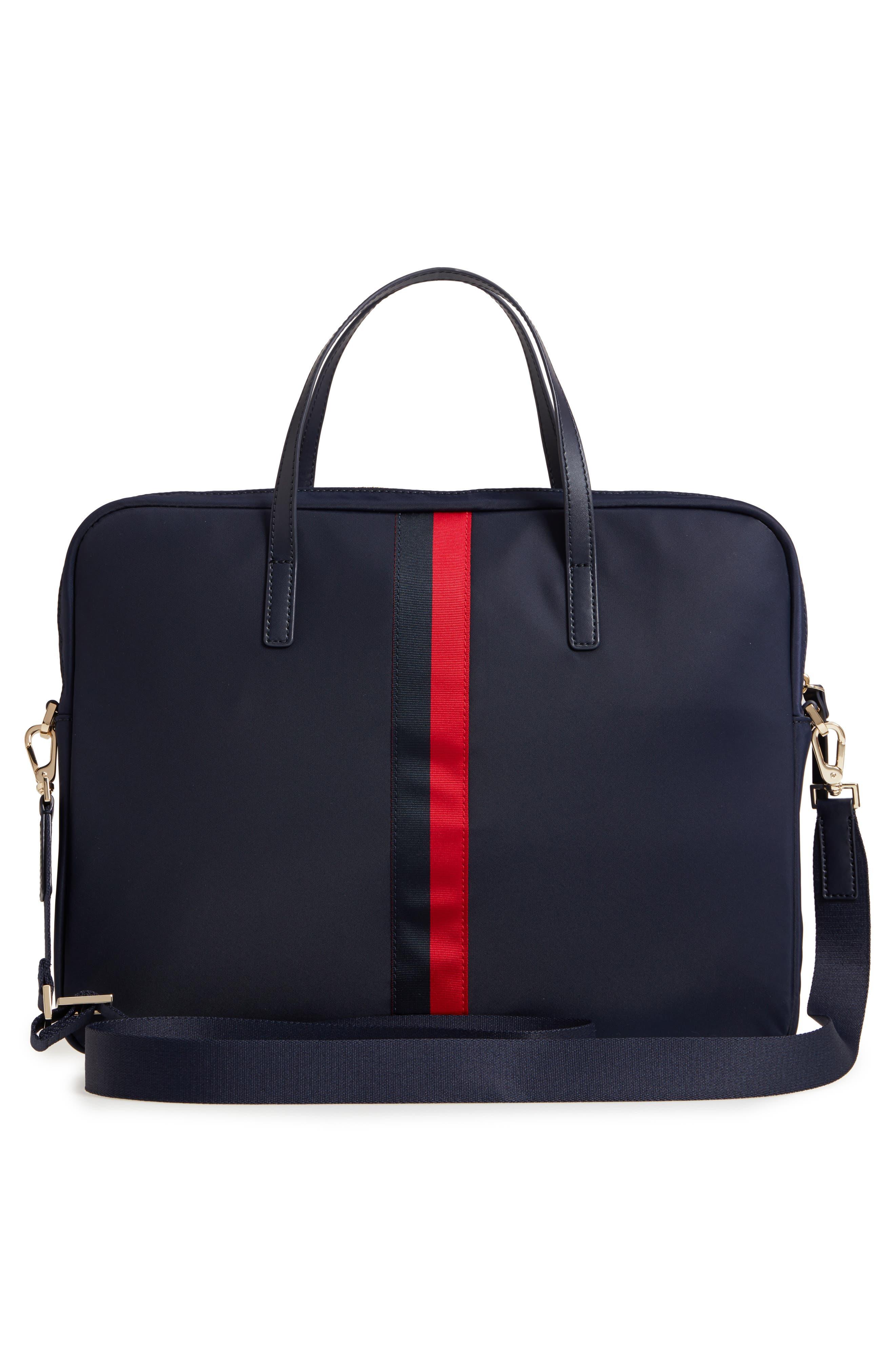 varsity stripe 15-inch laptop bag,                             Alternate thumbnail 3, color,                             493