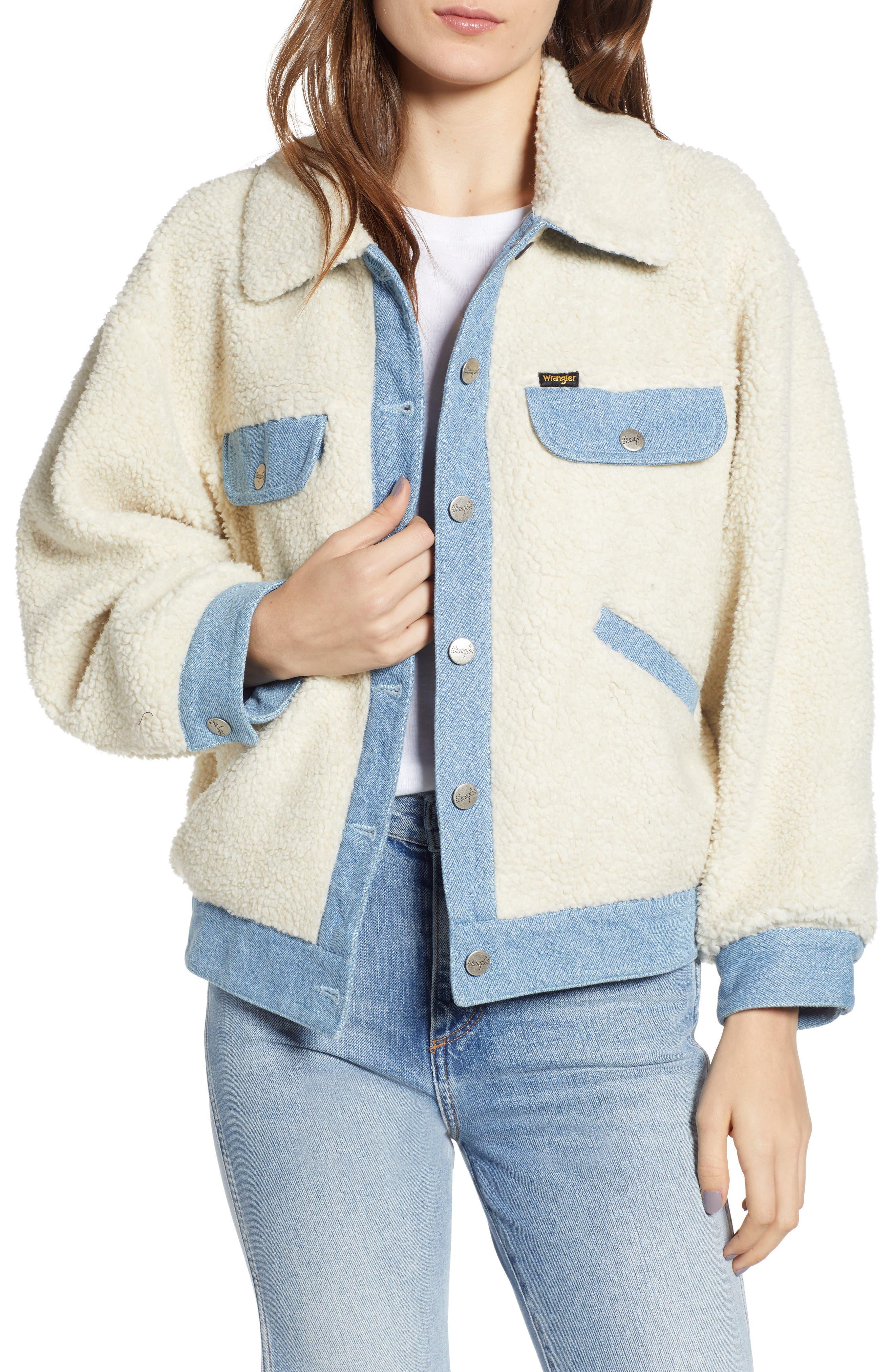 Wrangler Fleece & Denim Jacket