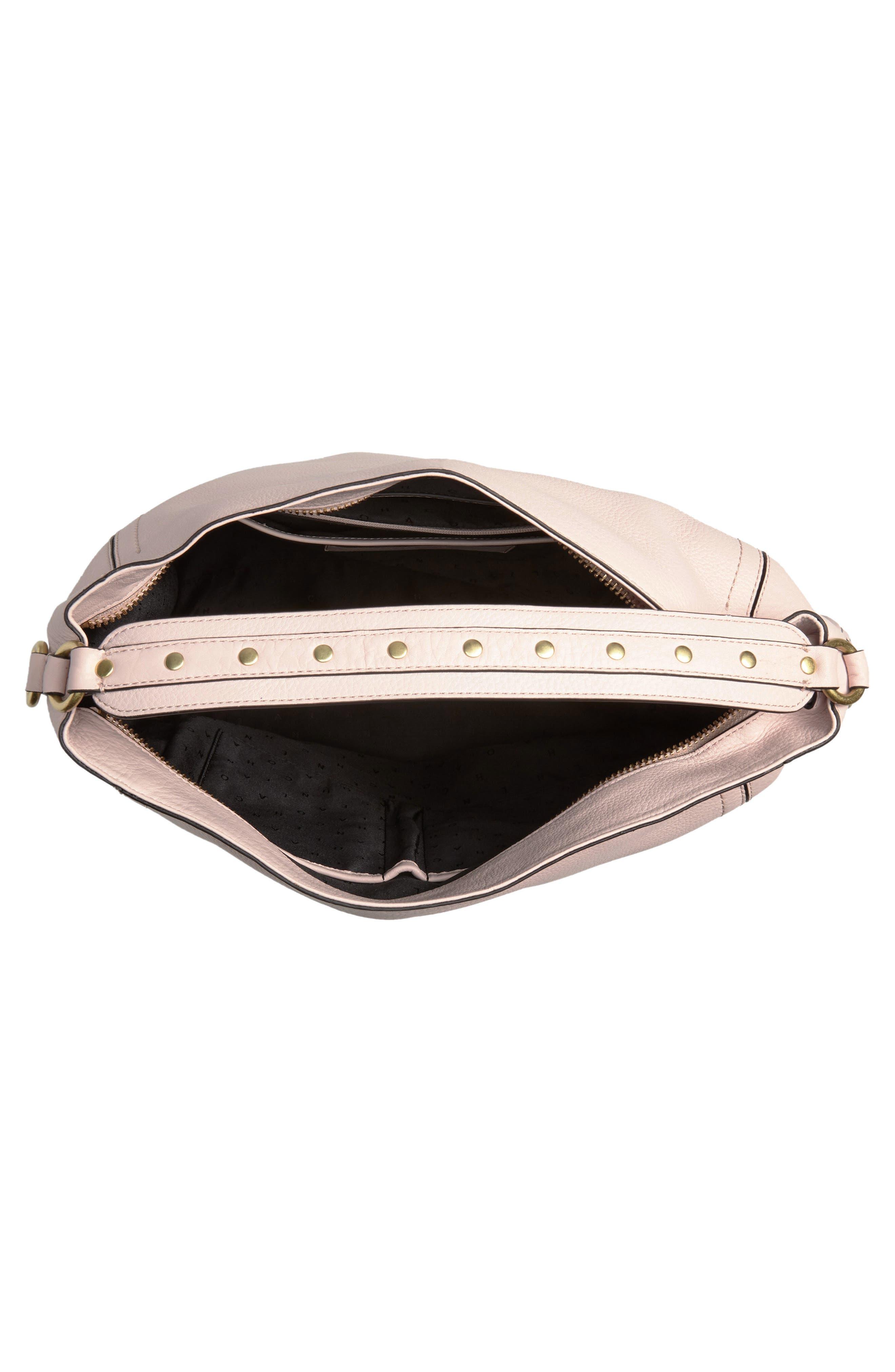 Cassidy RFID Pebbled Leather Bucket Bag,                             Alternate thumbnail 16, color,