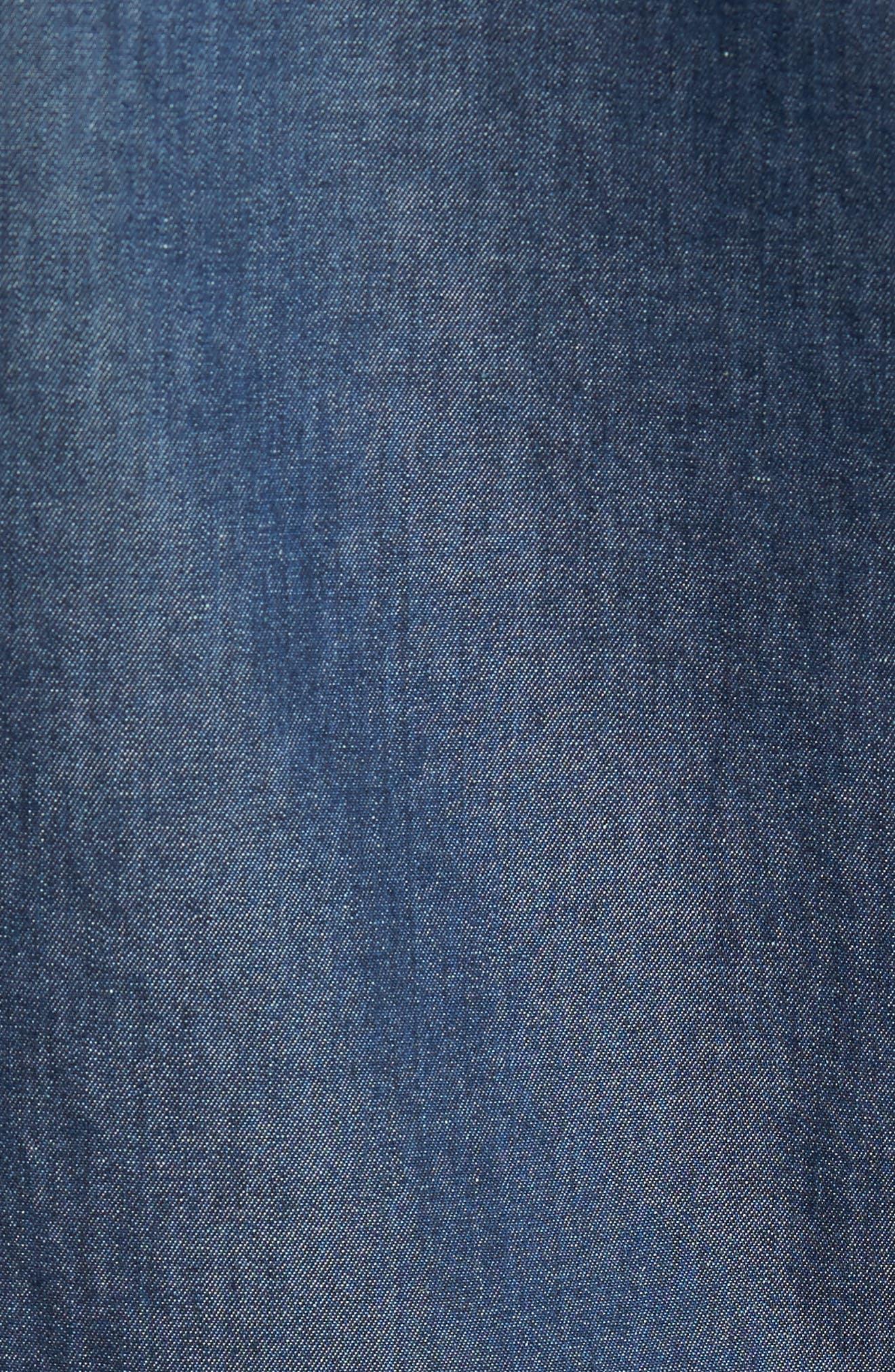 Kinney Denim Shirt,                             Alternate thumbnail 5, color,