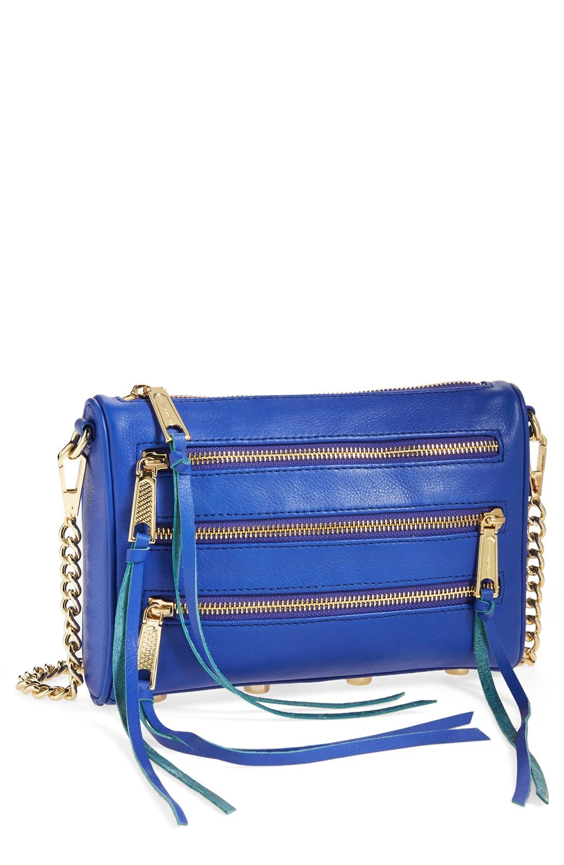 'Mini 5 Zip' Convertible Crossbody Bag, Main, color, 401