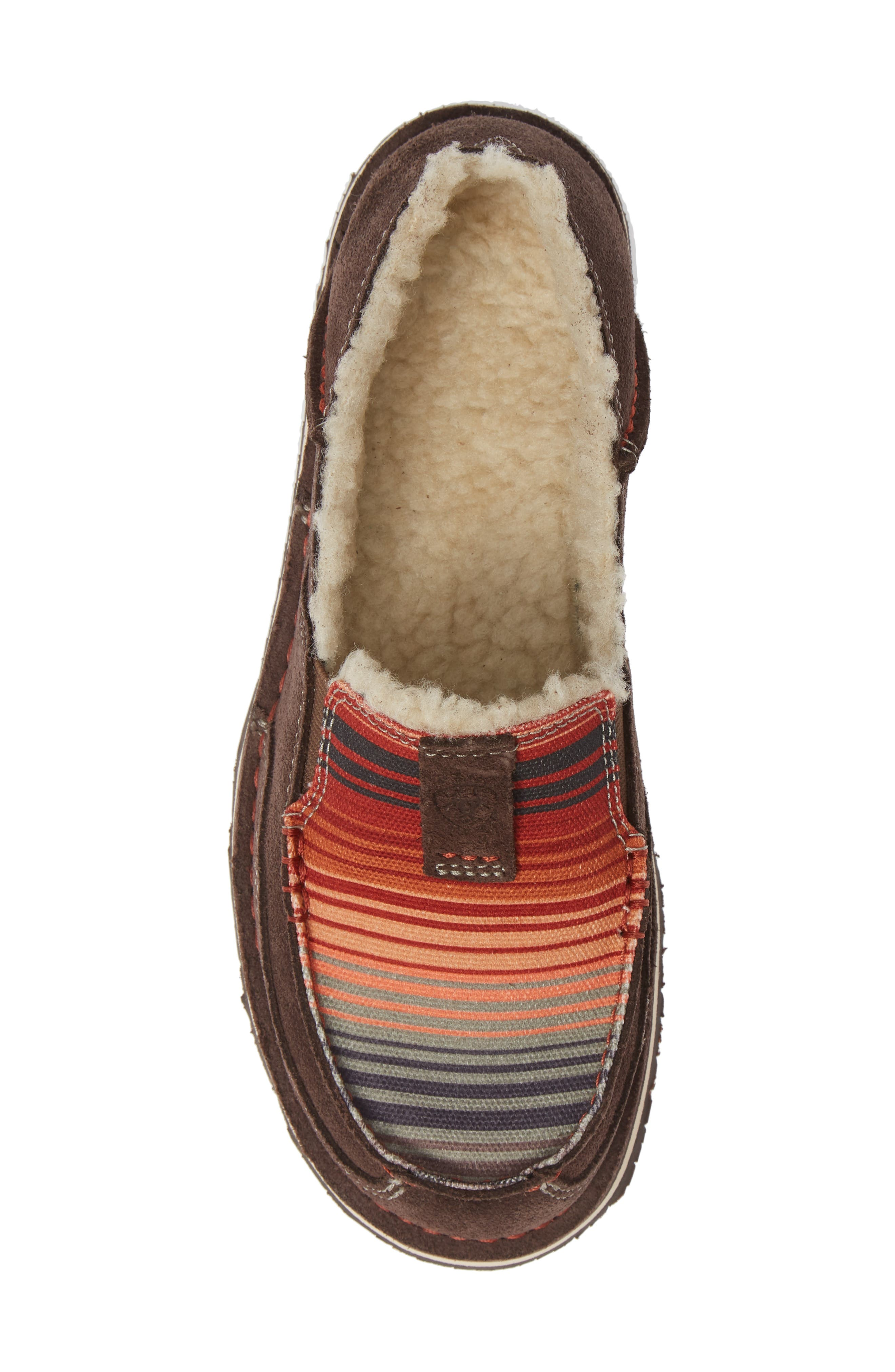 ARIAT,                             Cruiser Slip-On Loafer,                             Alternate thumbnail 5, color,                             SOUTHWESTERN FABRIC