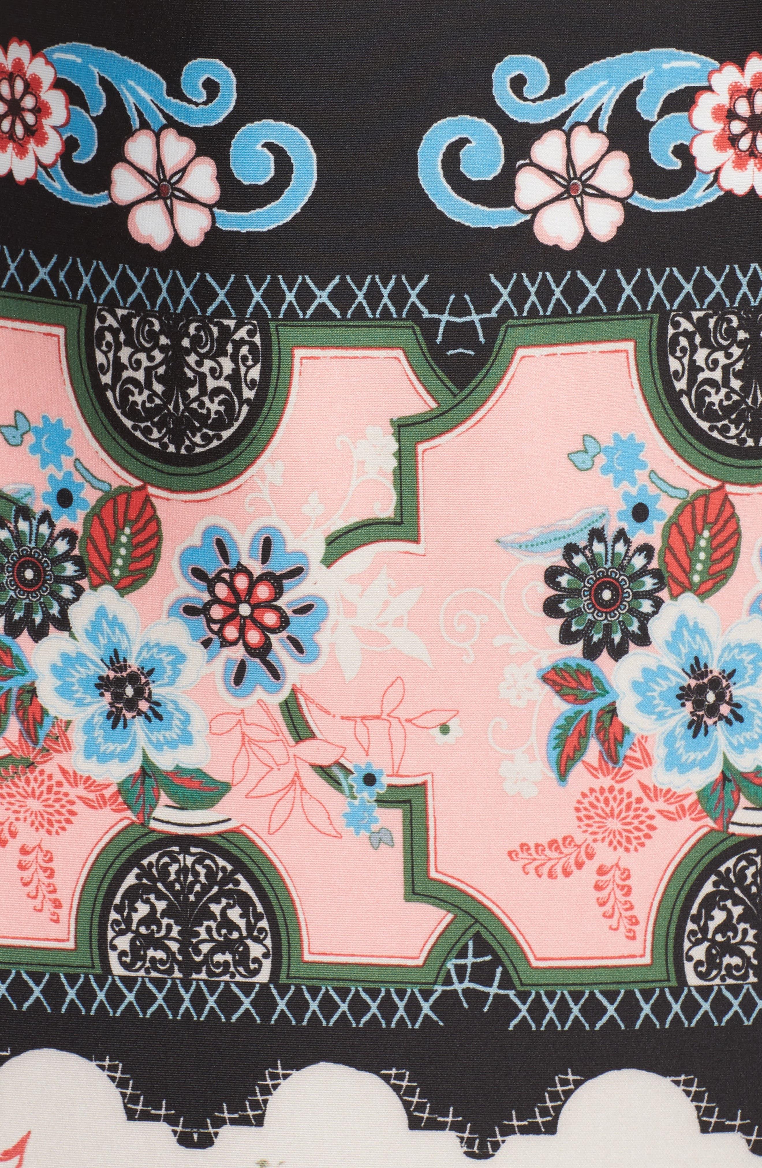 Scuba Sheath Dress,                             Alternate thumbnail 5, color,                             688