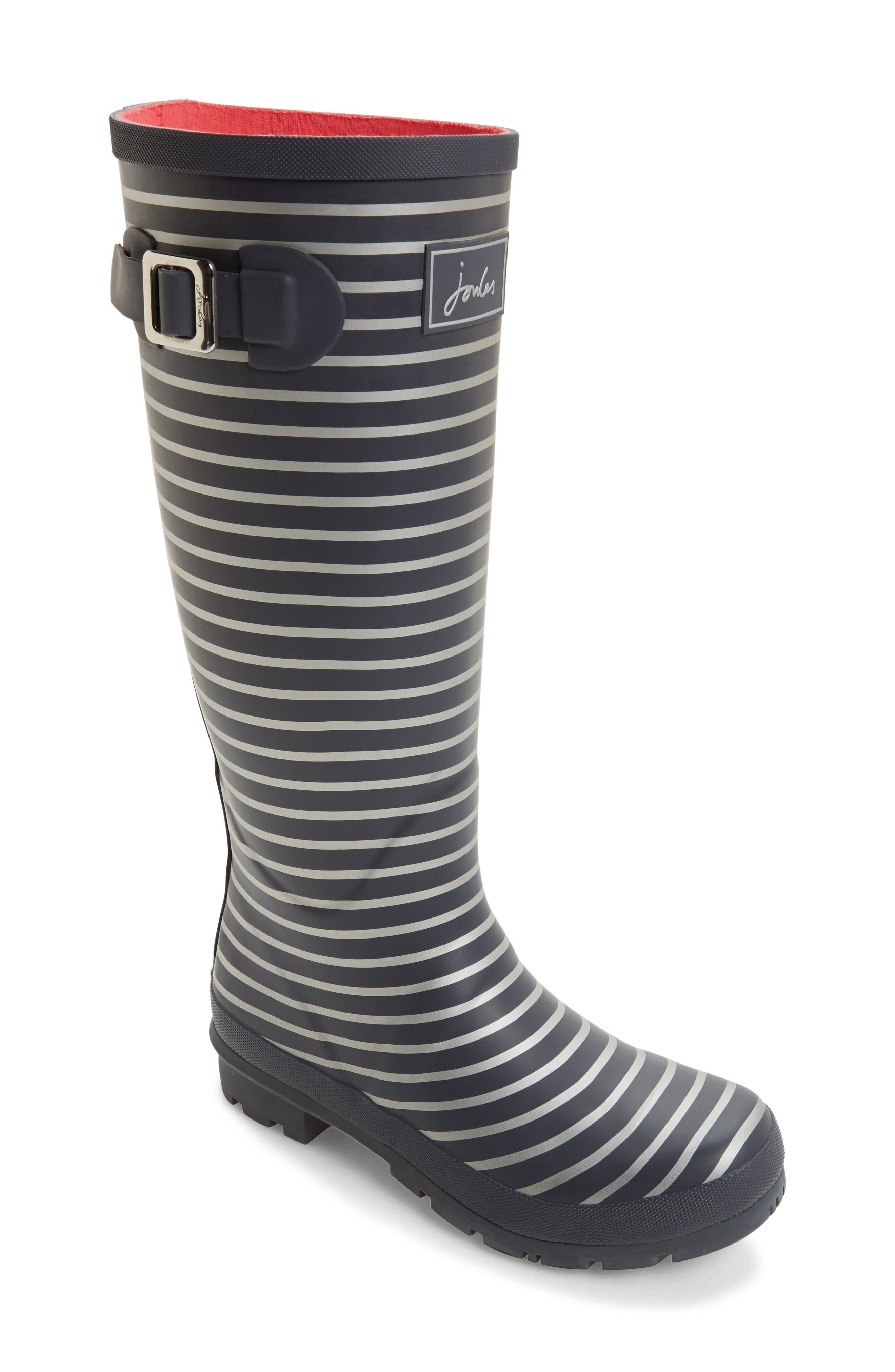 'Welly' Print Rain Boot,                             Main thumbnail 28, color,