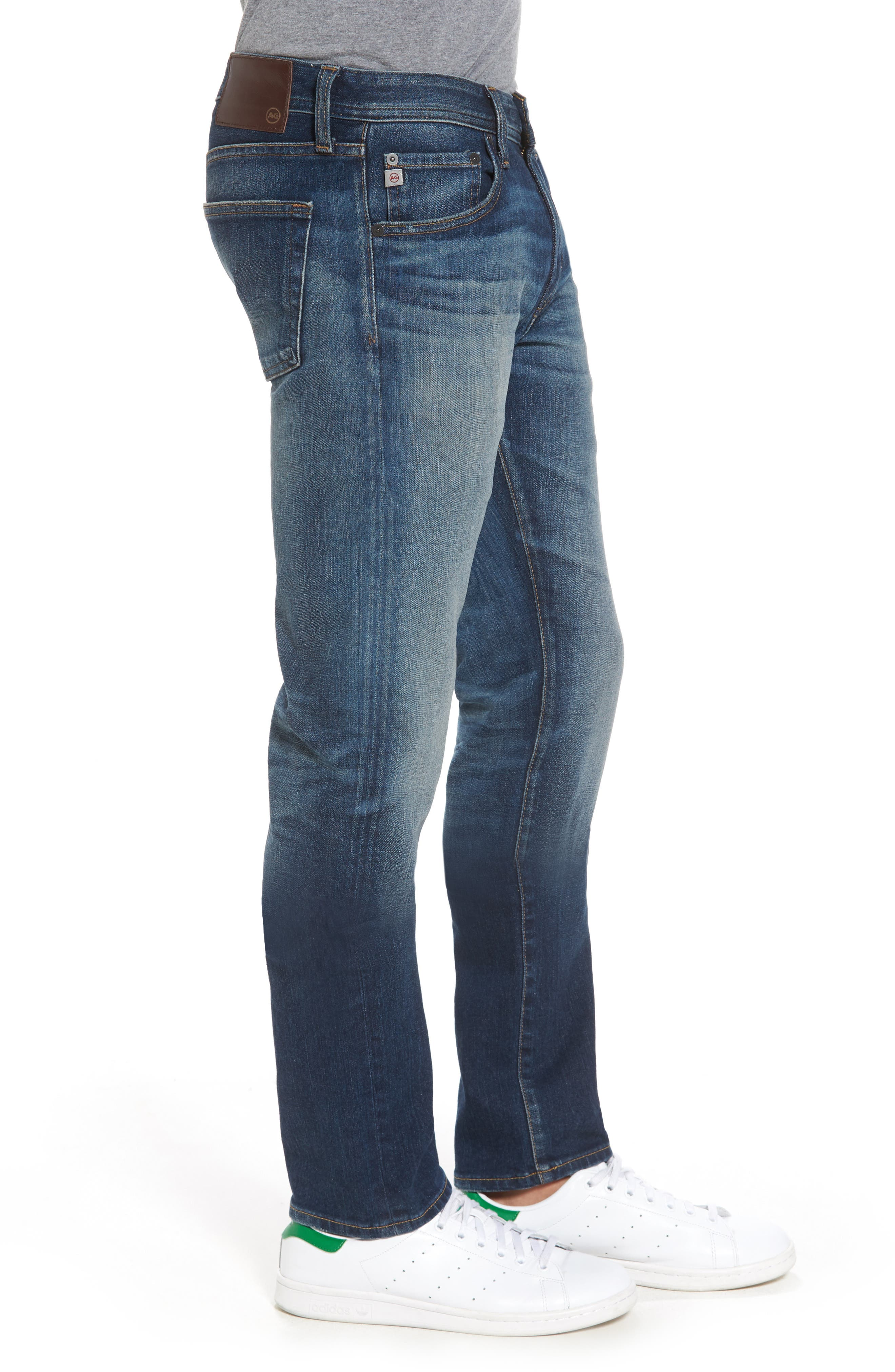 Tellis Slim Fit Jeans,                             Alternate thumbnail 3, color,                             496