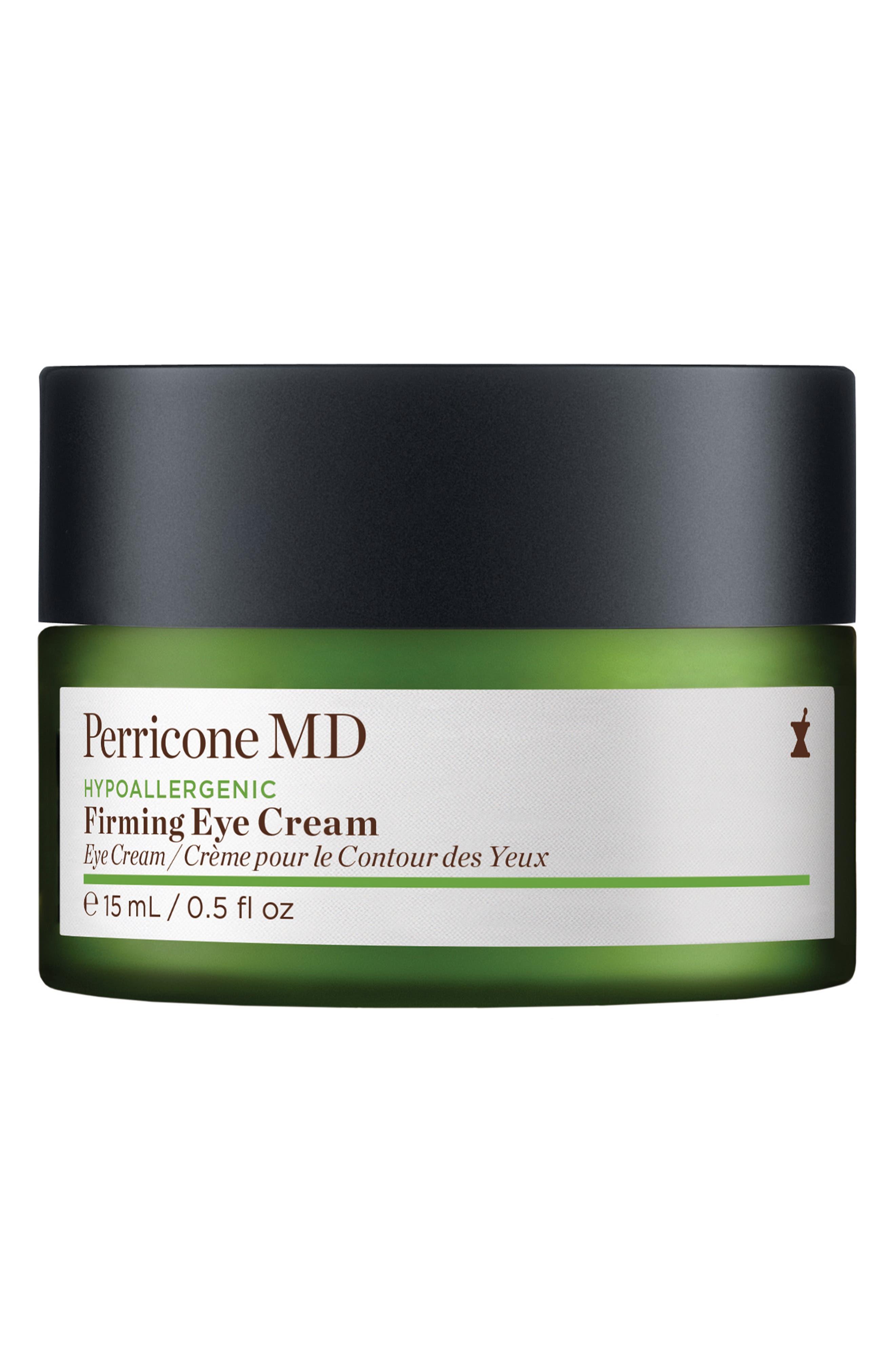 Hypoallergenic Firming Eye Cream,                         Main,                         color, NO COLOR