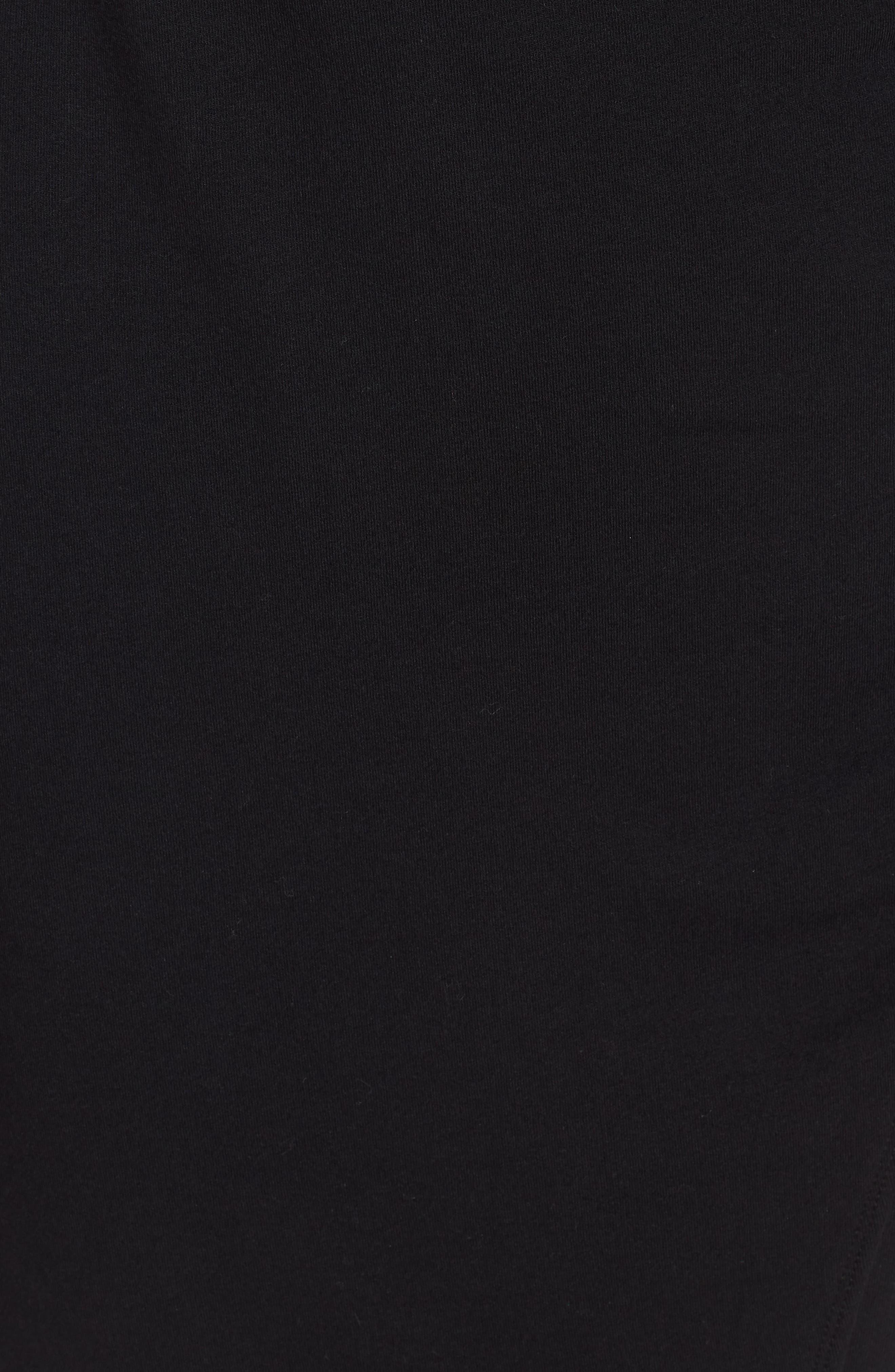 OBEY,                             Kinzie Faux Wrap Dress,                             Alternate thumbnail 6, color,                             001