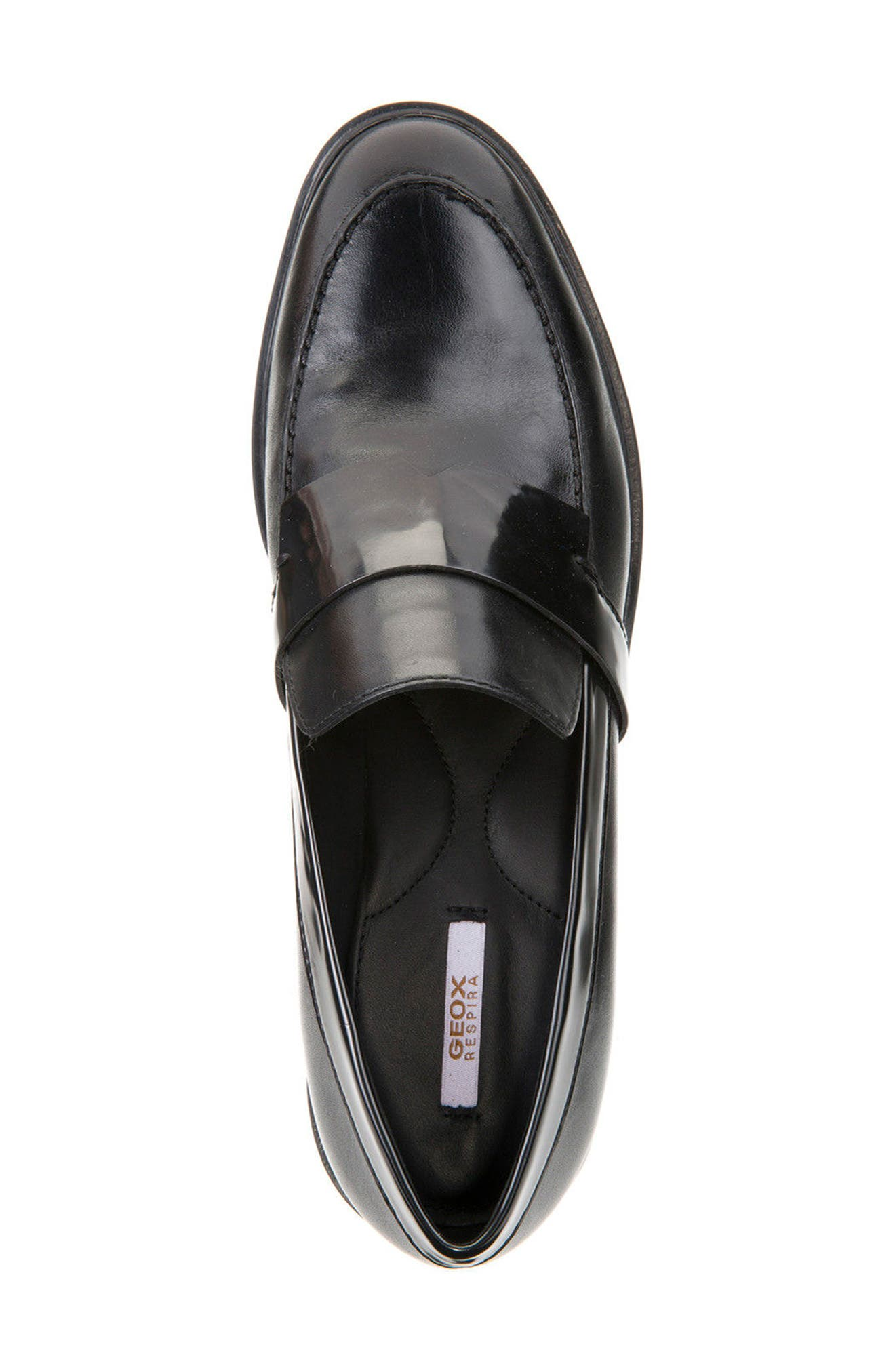 Peaceful Loafer Pump,                             Alternate thumbnail 3, color,                             001