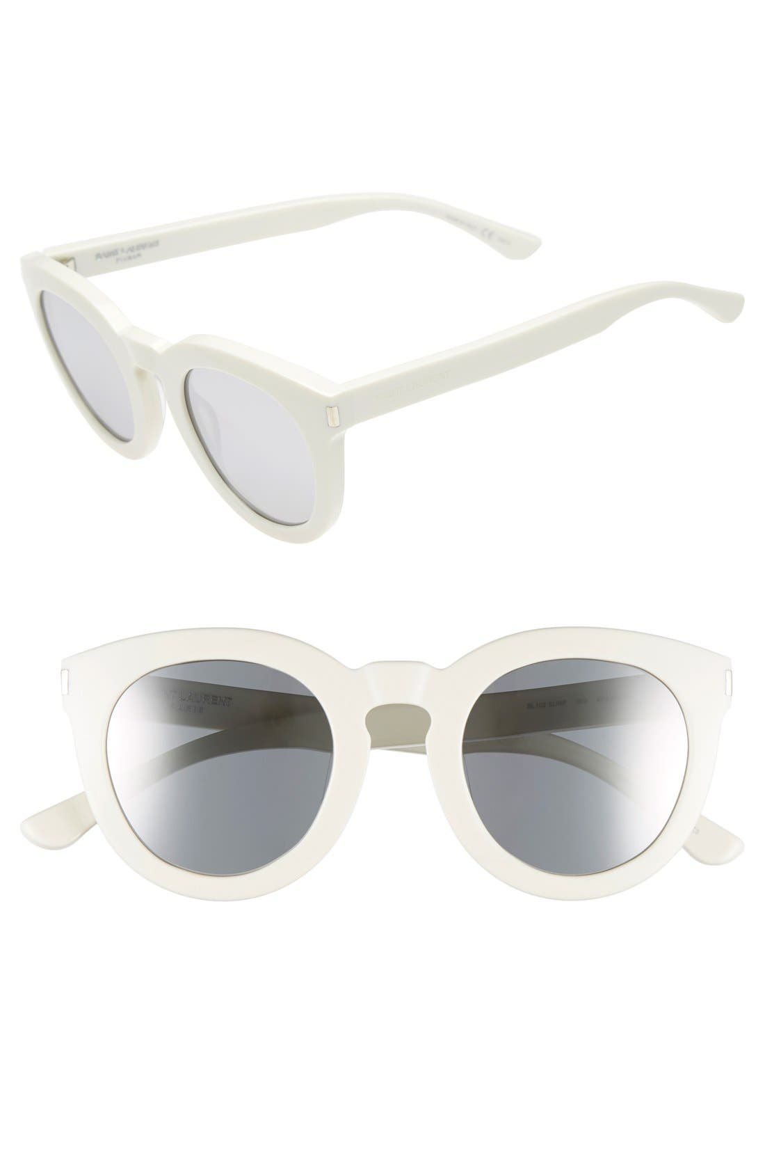'102 Surf' 47mm Retro Sunglasses,                             Main thumbnail 4, color,
