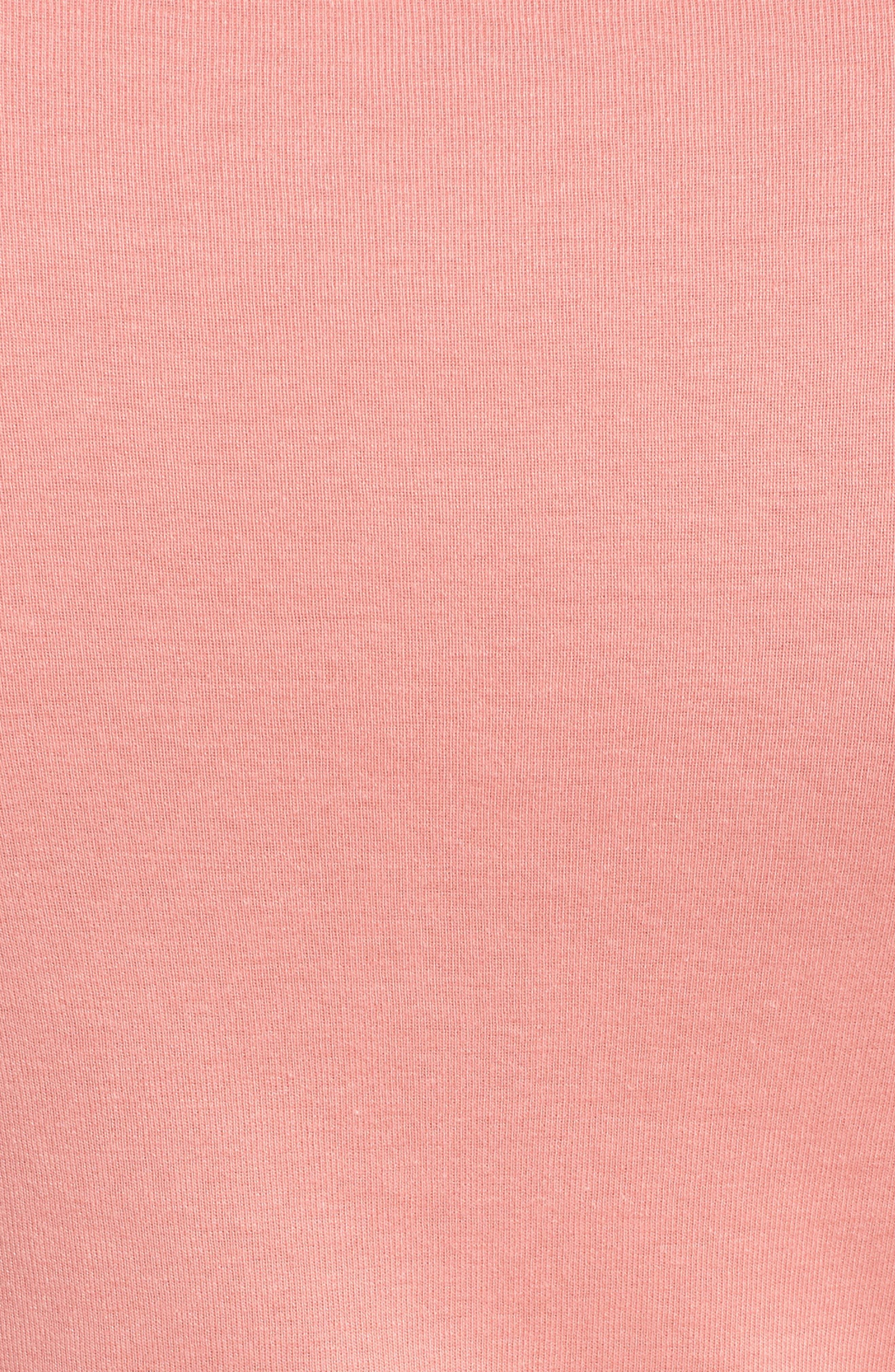 Three Quarter Sleeve Tee,                             Alternate thumbnail 108, color,