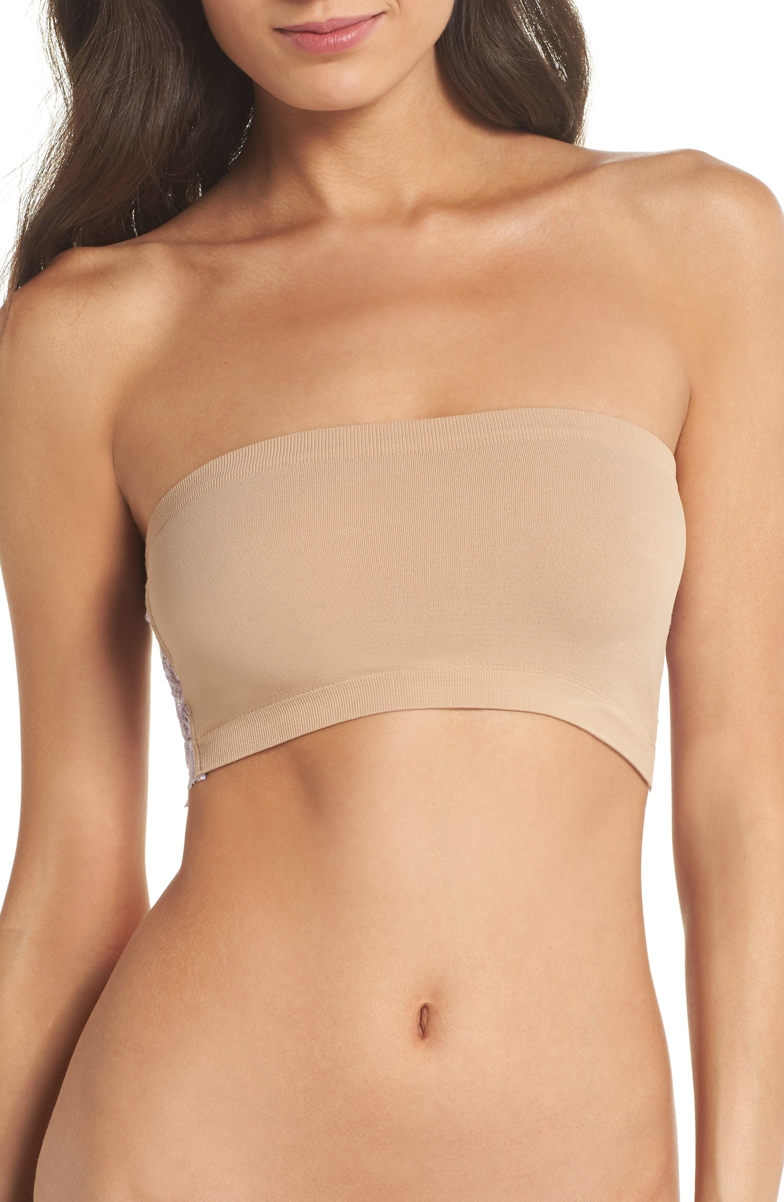 Intimately FP Lace Reversible Seamless Bandeau,                             Alternate thumbnail 27, color,