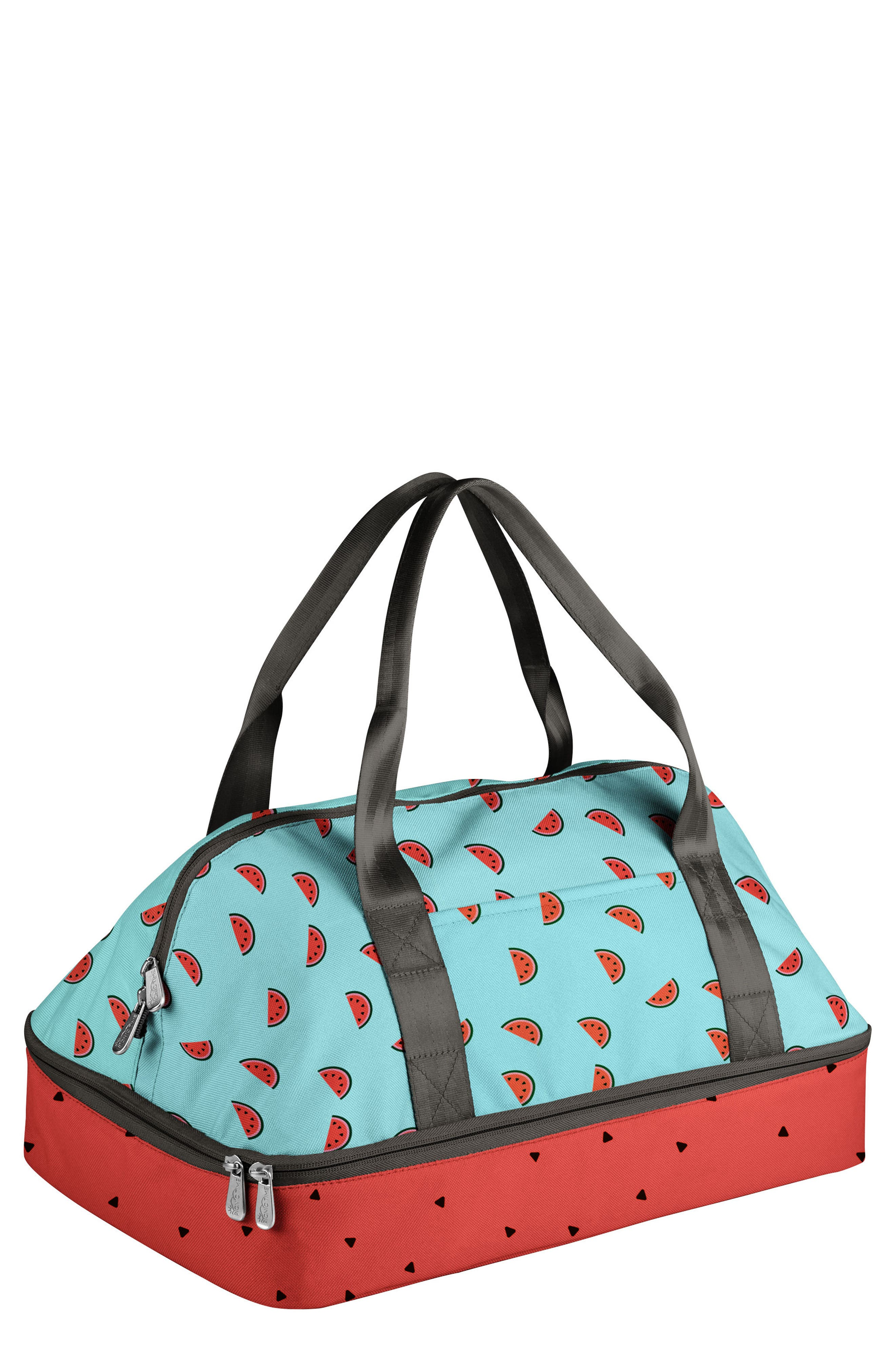 'Potluck' Casserole Tote,                             Main thumbnail 1, color,                             BLUE WATERMELON