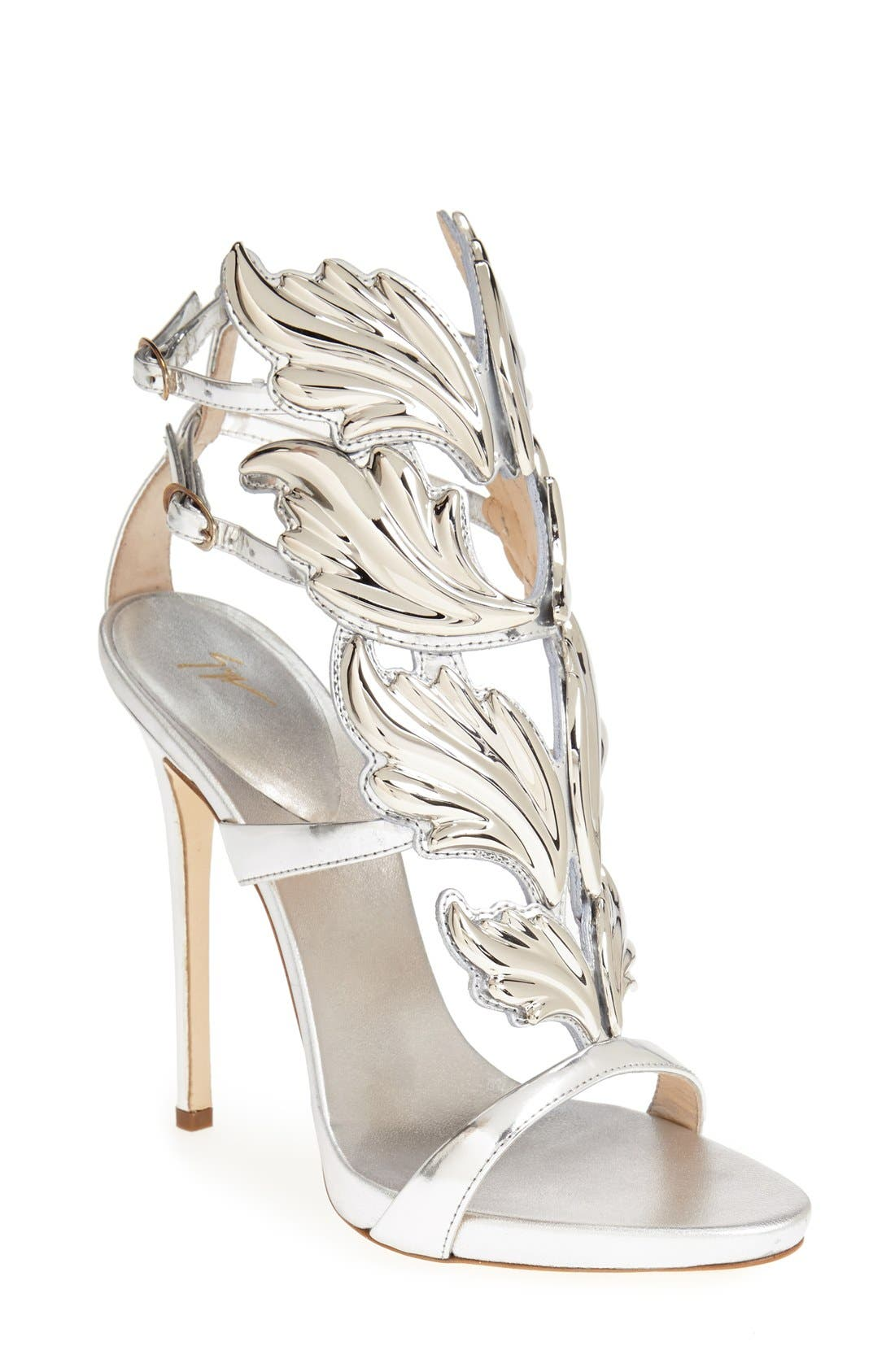 'Coline' Winged Sandal,                         Main,                         color,